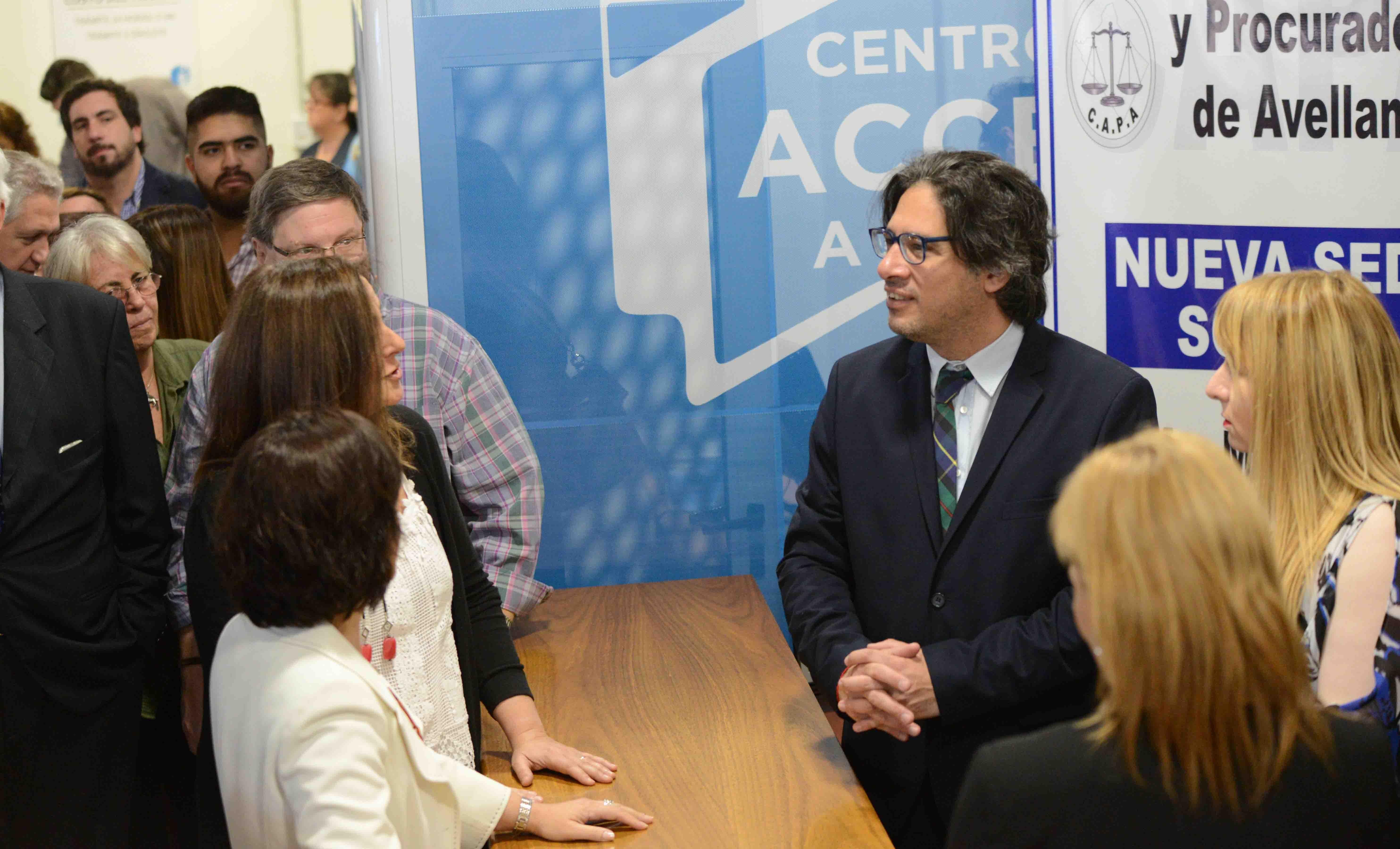 Se completa la Red federal de Centros de Acceso a Justicia (Avellaneda)