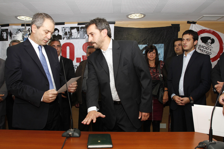 Alak puso en funciones a Juan Martin Fresneda como nuevo secretario de Derechos Humanos