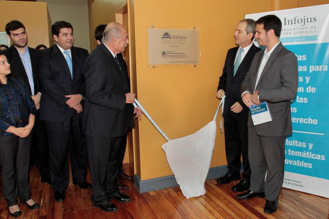 Habilitan en Tribunales una nueva sede de infojus, el más completo portal de información jurídica gratuita