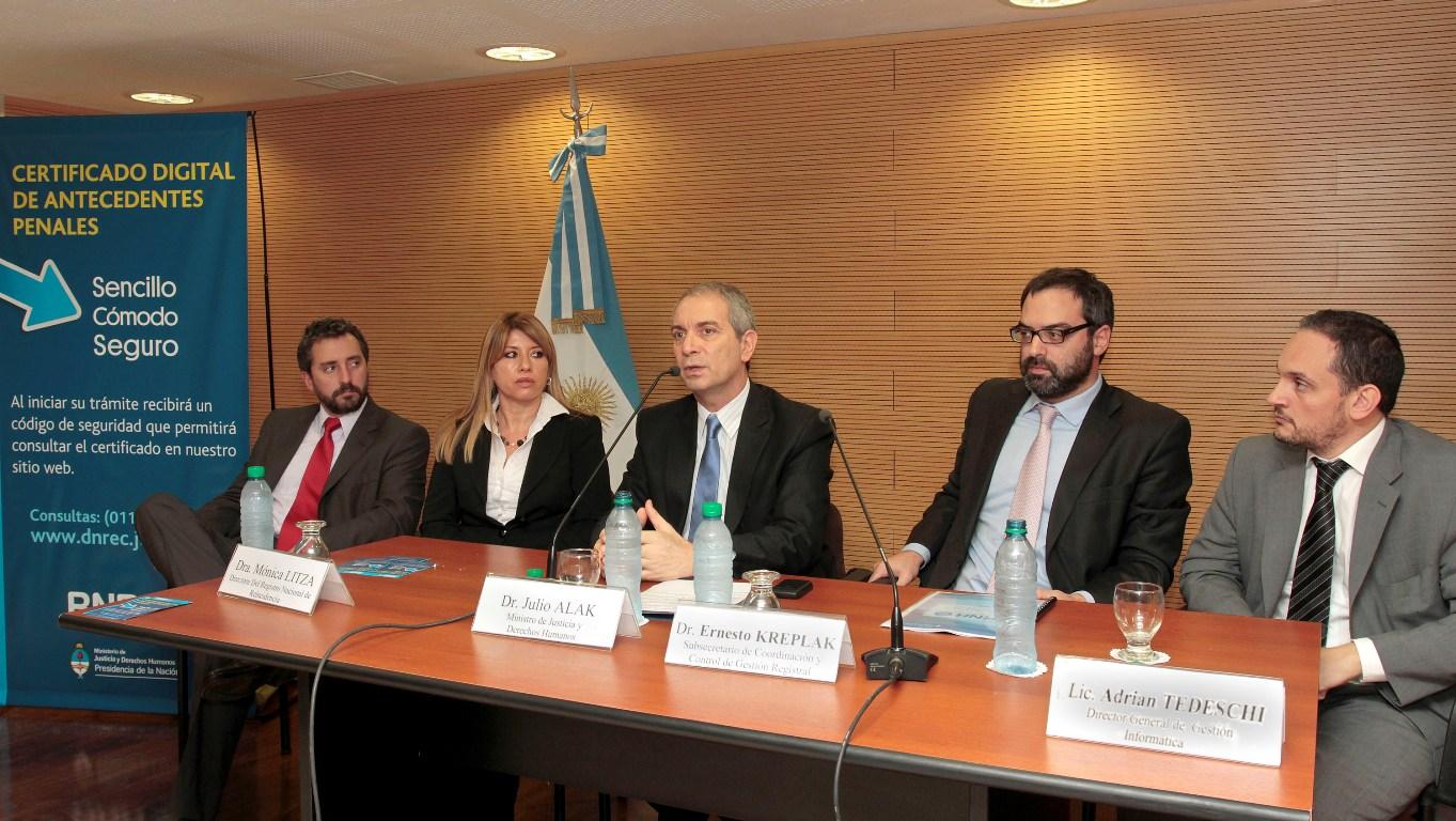 El Certificado de Antecedentes Penales ya se emite en formato digital
