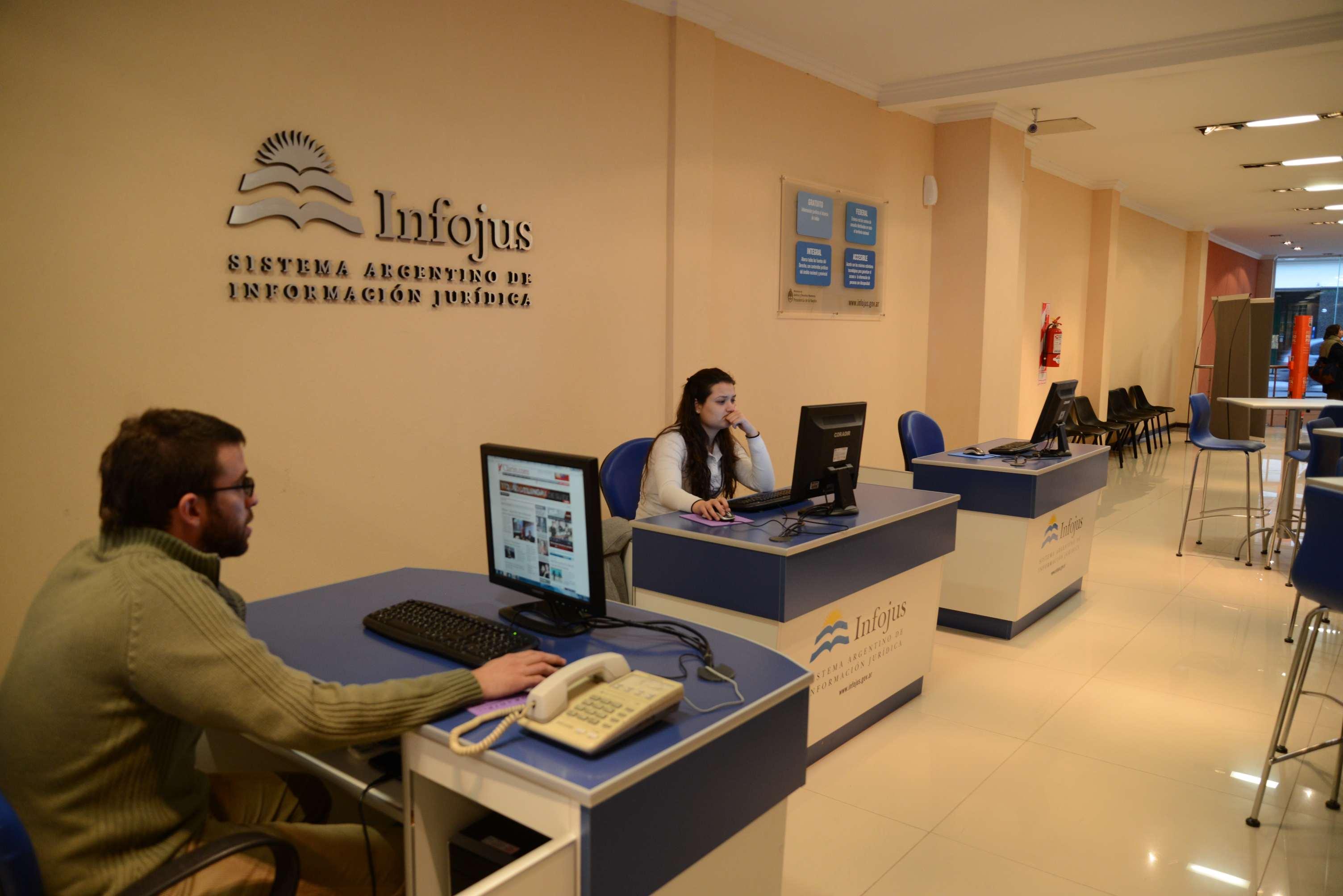 Se inauguró un nuevo Centro de Consulta de Infojus