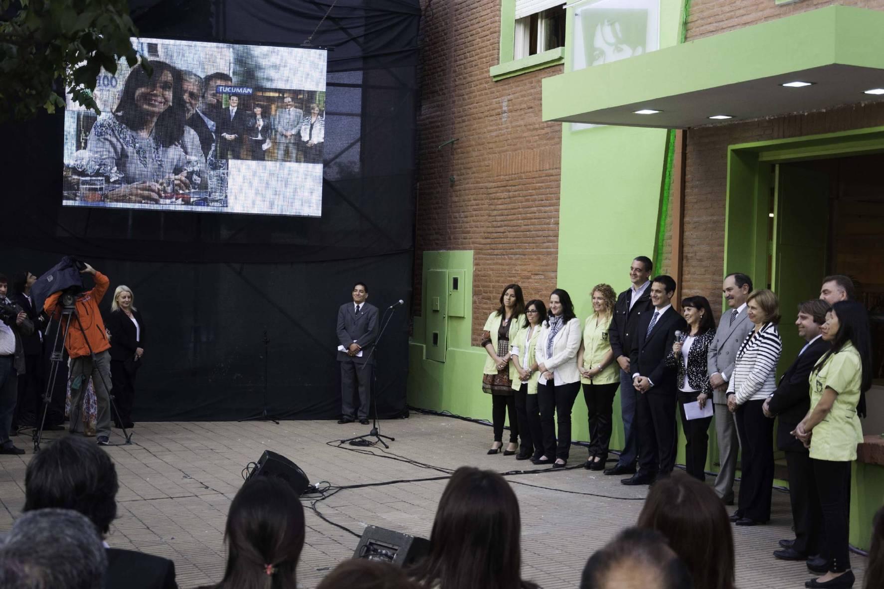Por videoconferencia, la Presidenta de la Nación inauguró un Centro de Acceso a la Justicia en Tucumán