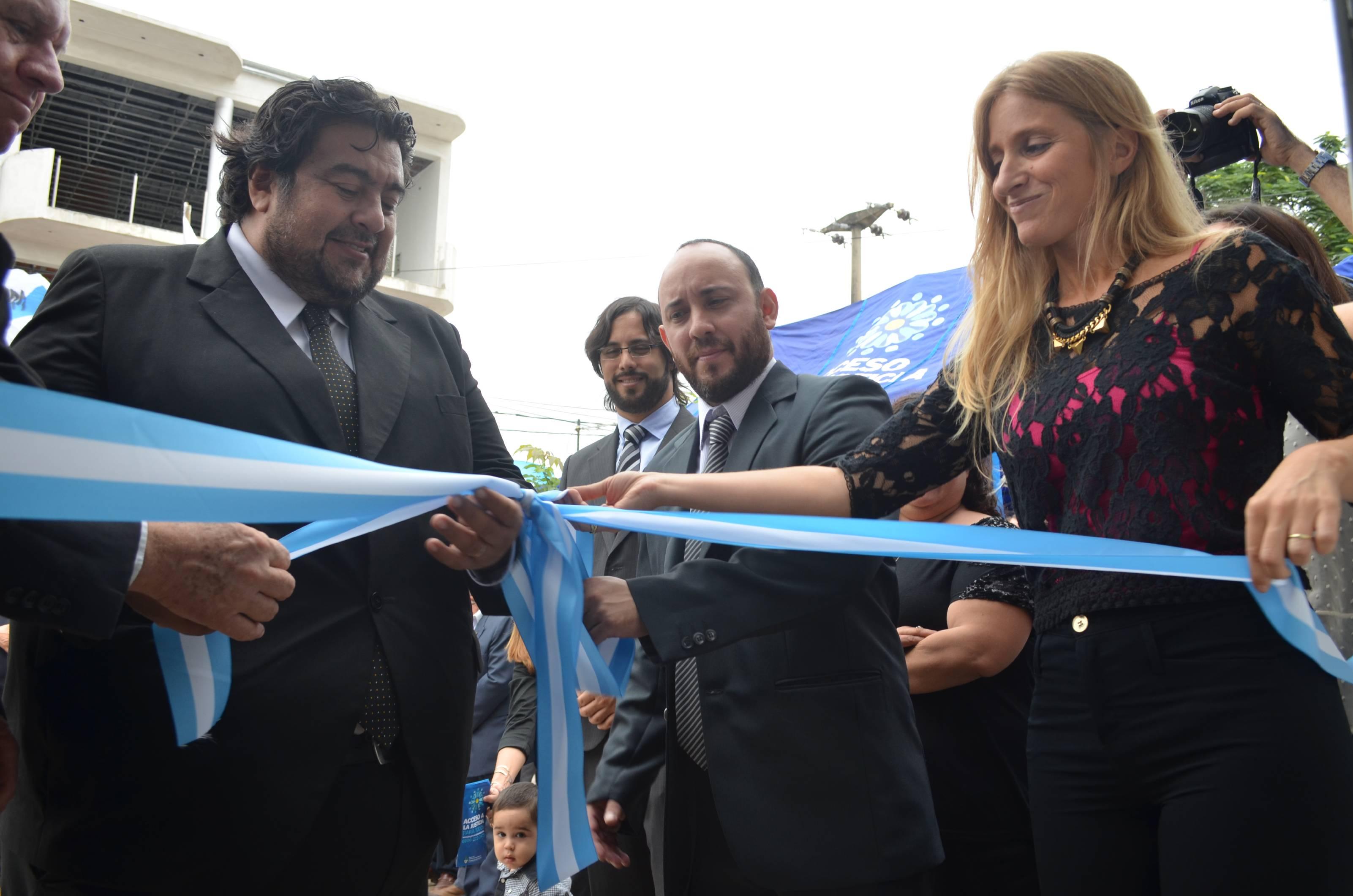 El Ministerio inauguró un Centro de Acceso a la Justicia en Formosa