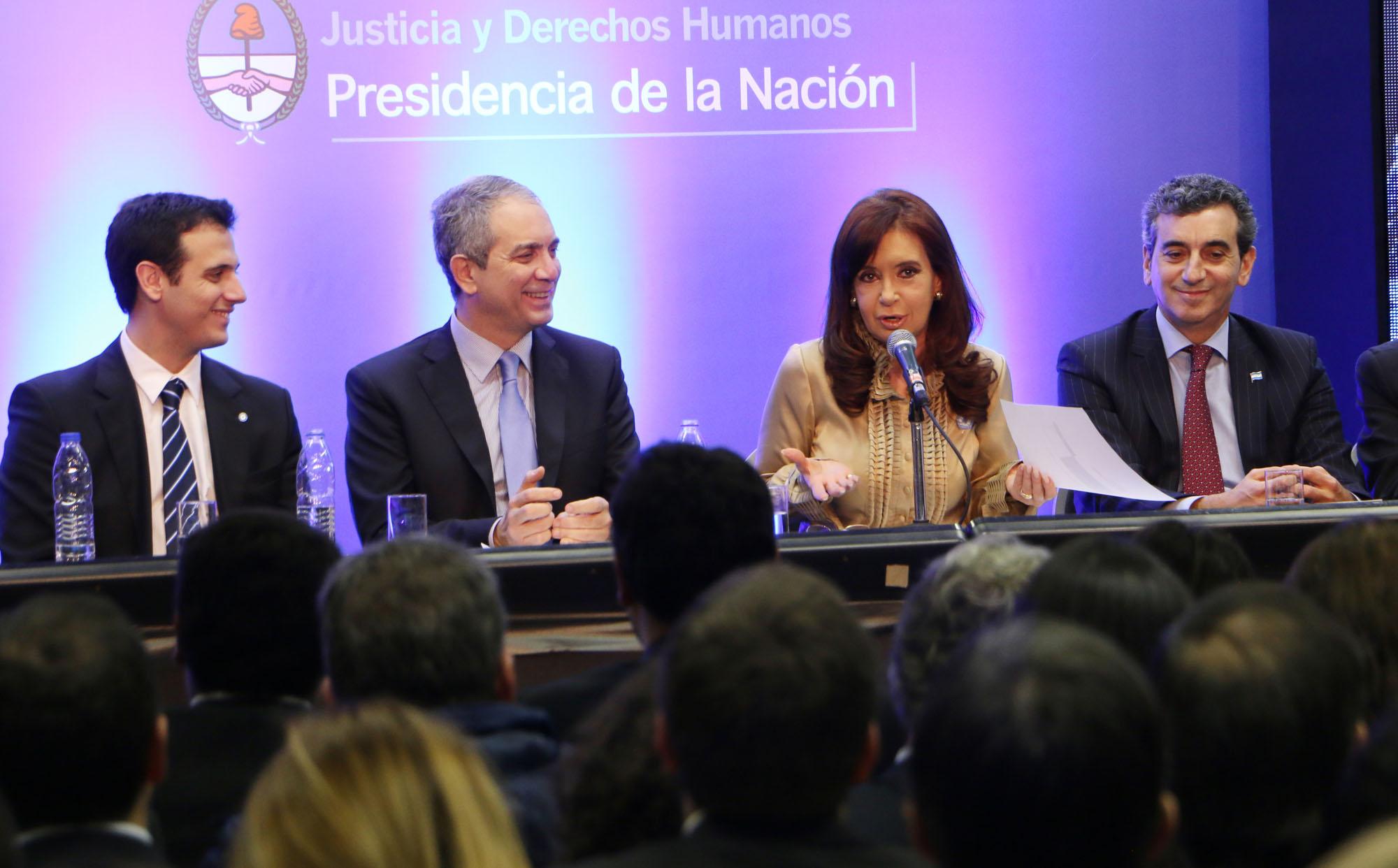 La Presidenta inauguró la sede Costanera Sur del Ministerio de Justicia y Derechos Humanos