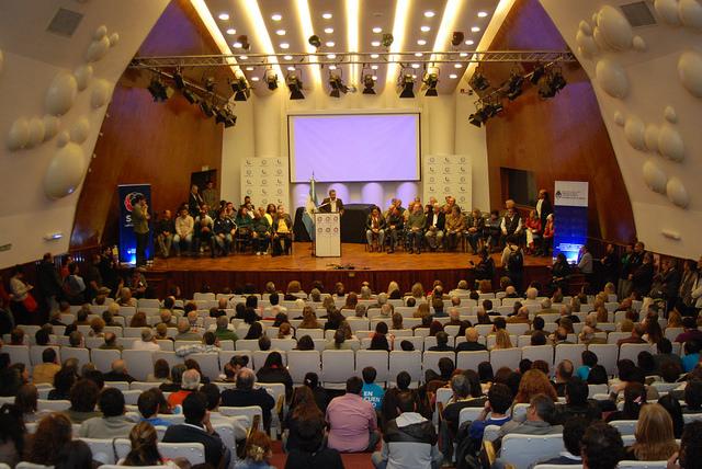 La secretaría de Derechos Humanos conmemoró el 45º aniversario del Cordobazo