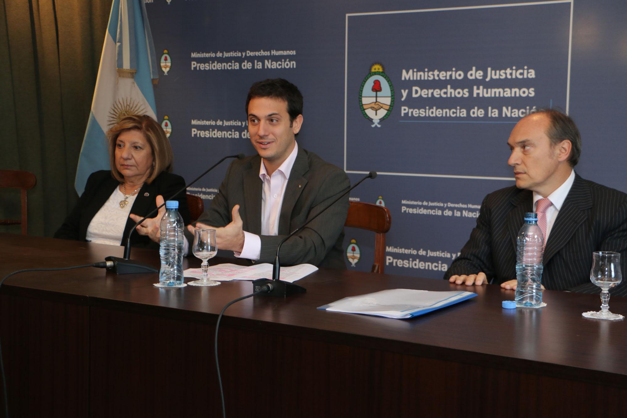 El Ministerio de Justicia encabezó una capacitación para funcionarios judiciales