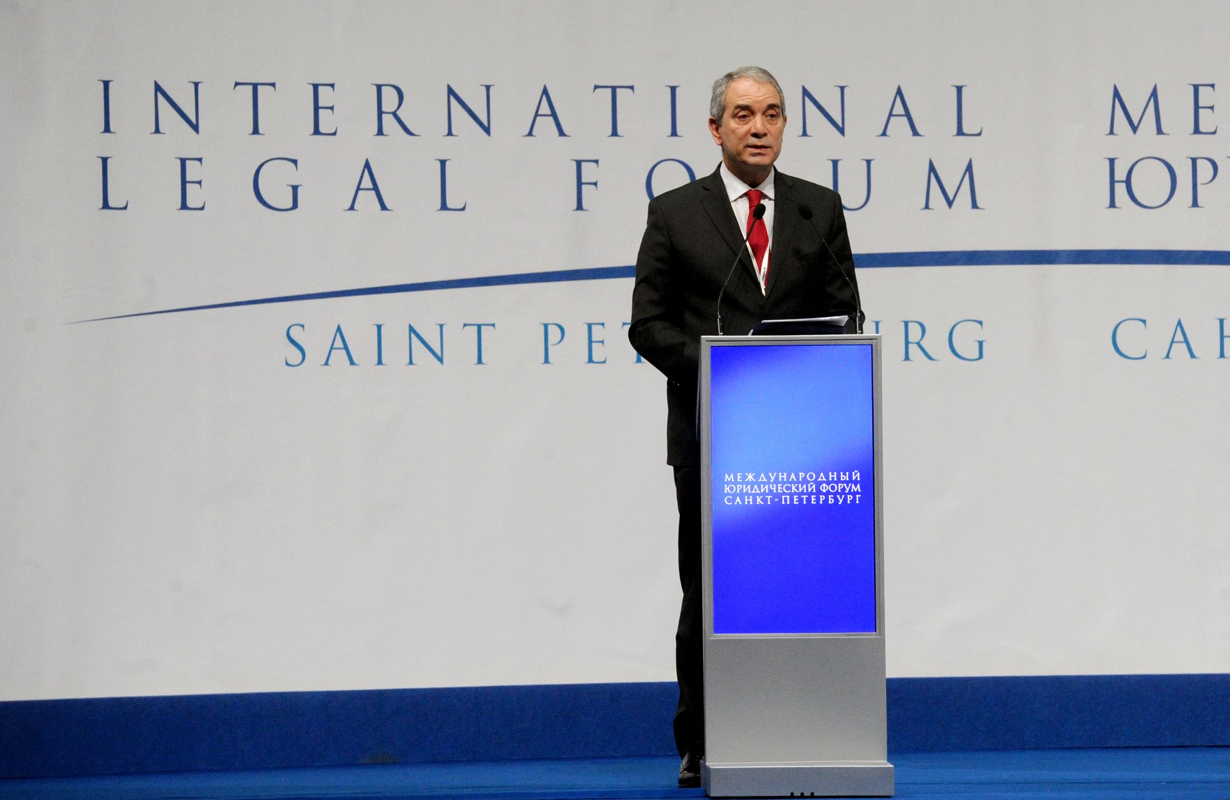 Alak disertó en Rusia en el IV Foro Internacional de Derecho