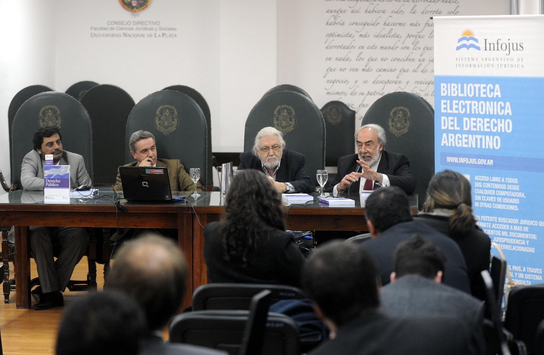 Comenzó en La Plata el ciclo de conferencias de Infojus que recorrerá el país