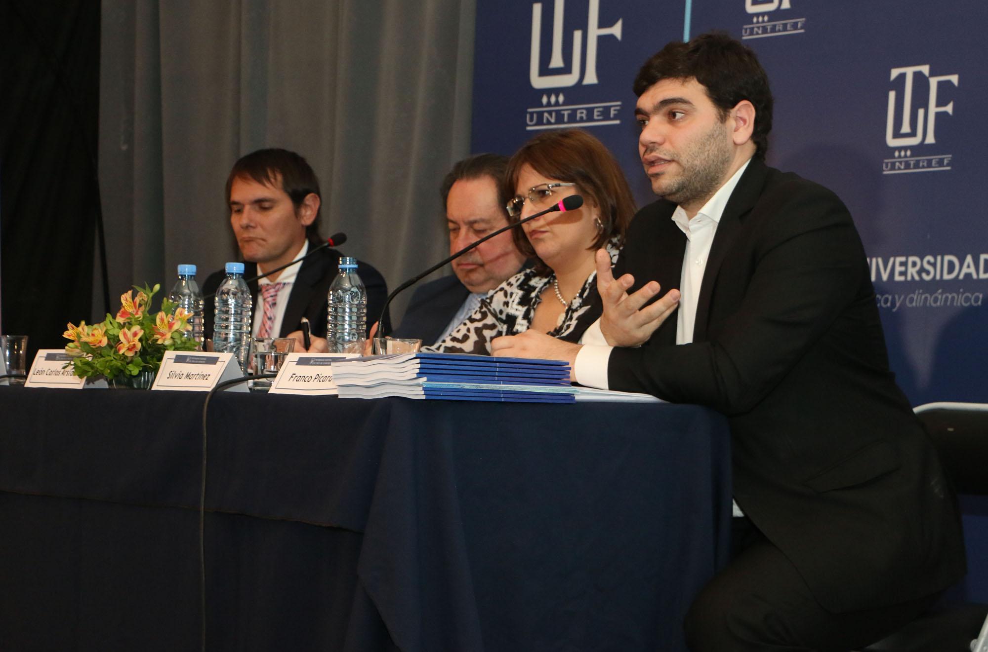 """Picardi participó de la presentación del informe """"Delito, marginalidad y desempeño institucional en Argentina"""""""