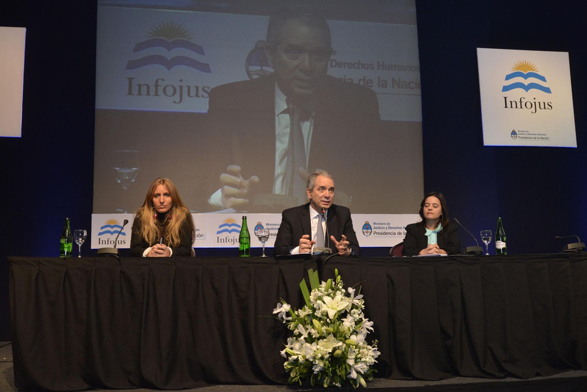"""Julio Alak: """"Infojus es una iniciativa de interés público federal, gratuita y democrática""""."""