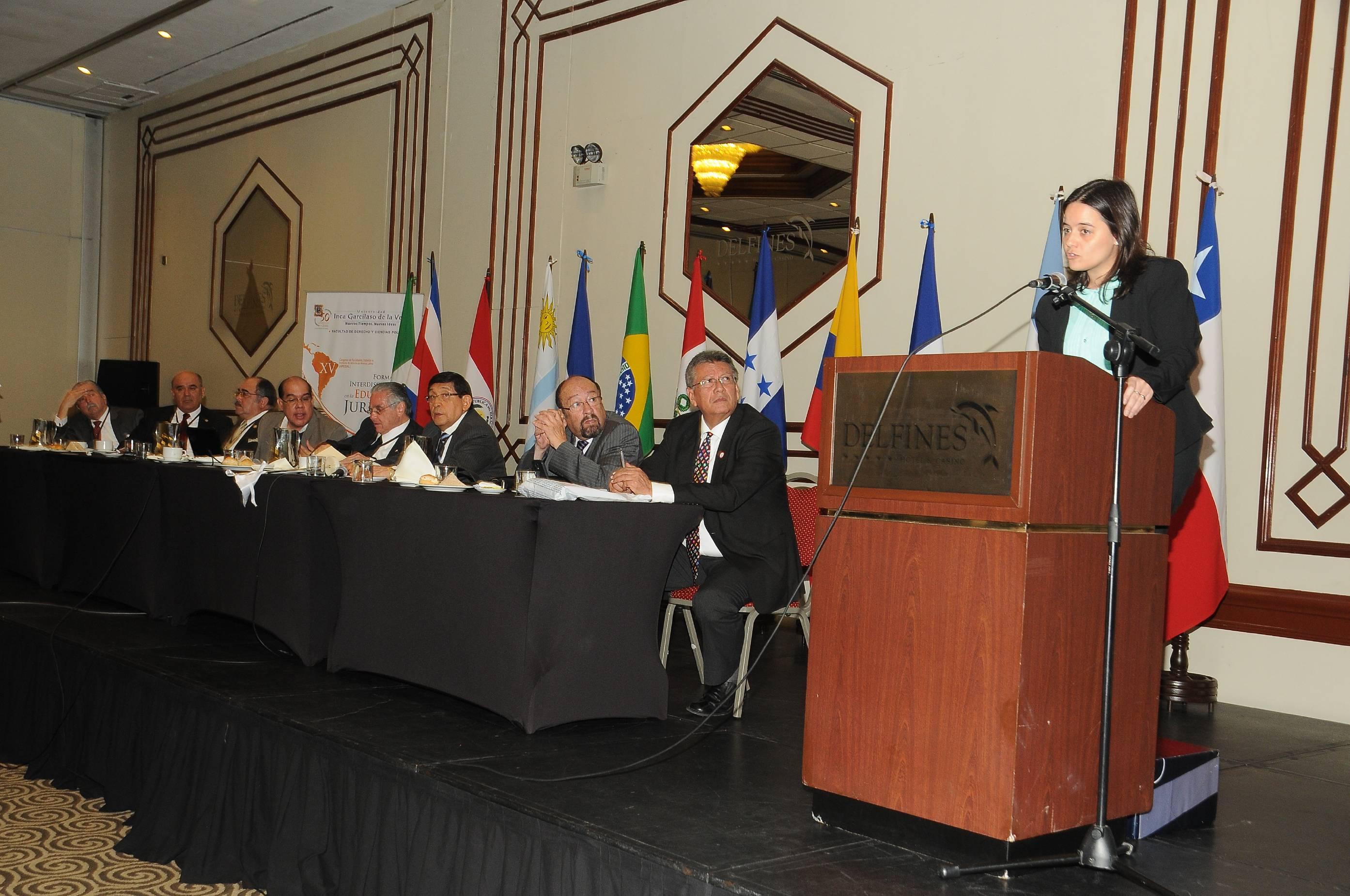 Infojus participó en Perú del XV Congreso Latinoamericano de Facultades de Derecho