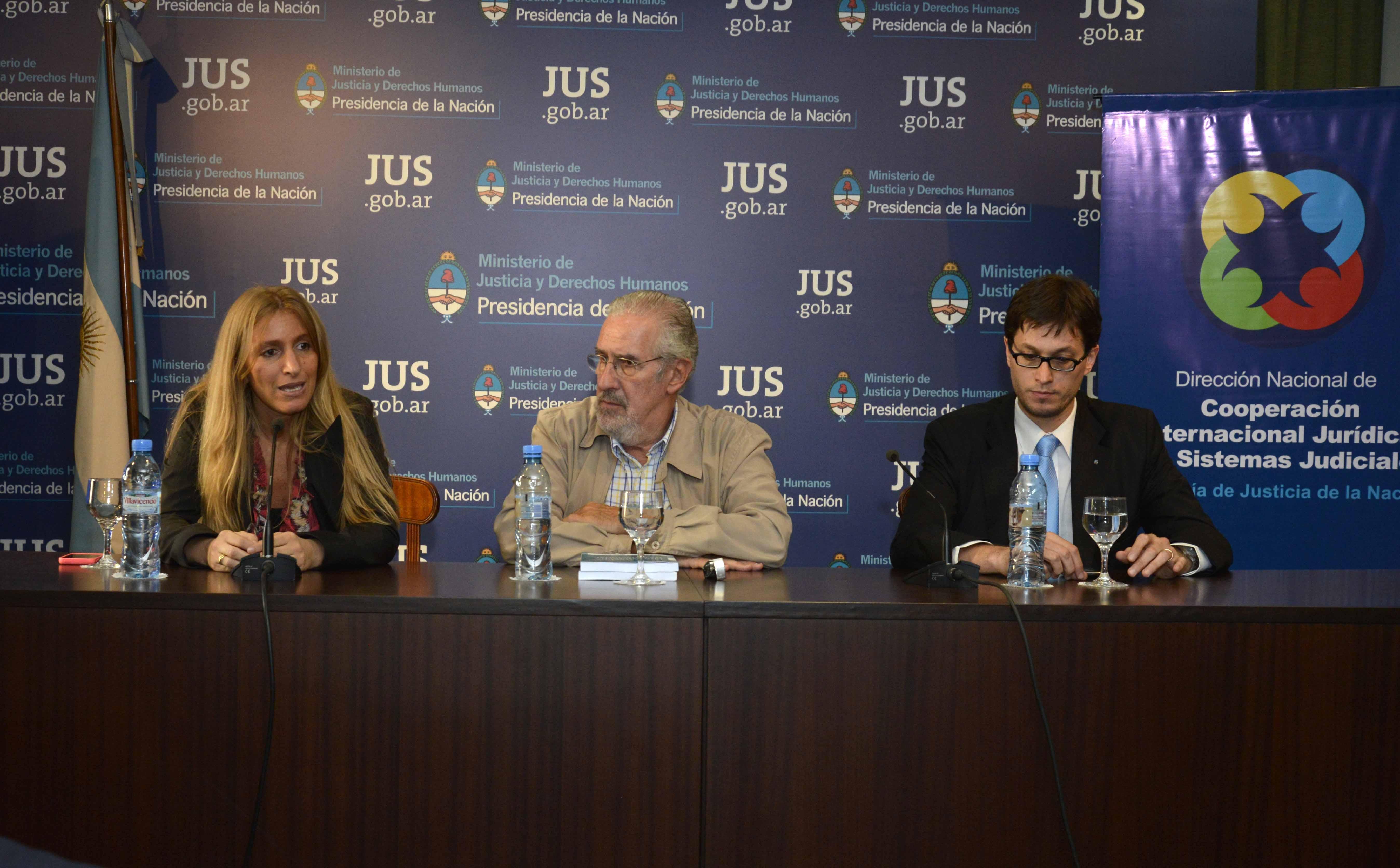 Se presentaron publicaciones sobre Acceso a la Justicia y Derechos Humanos