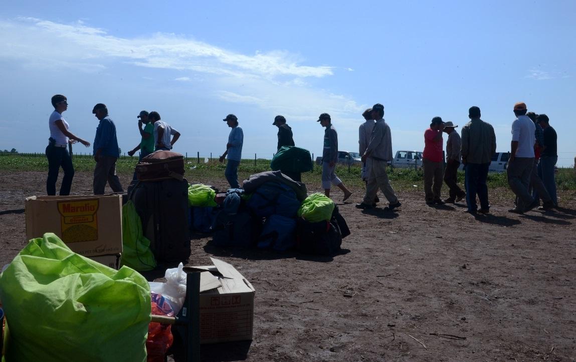 Rescatan a 51 víctimas de explotación laboral en una finca de San Pedro