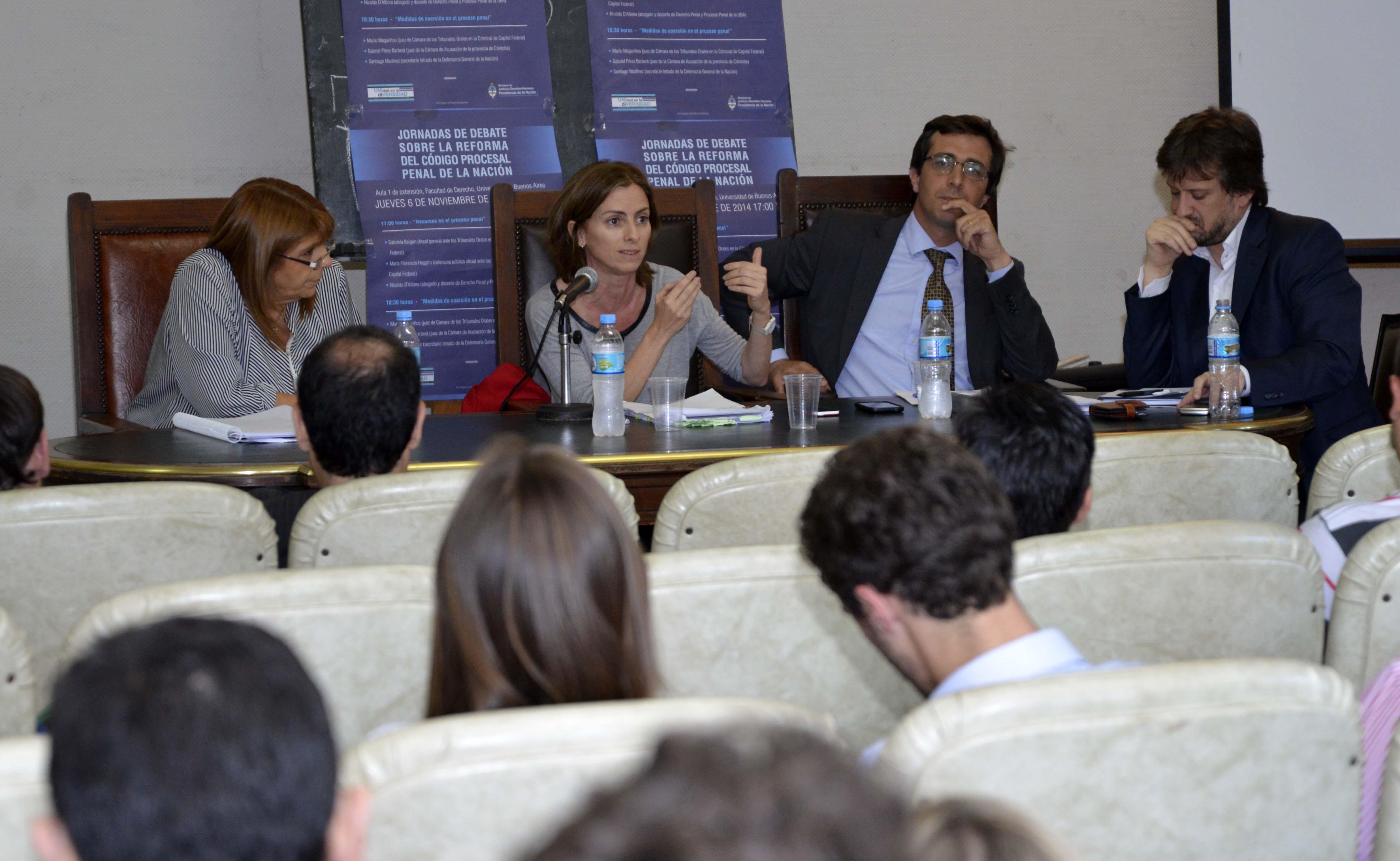 Continúan las jornadas de debate sobre la reforma del Código Procesal Penal