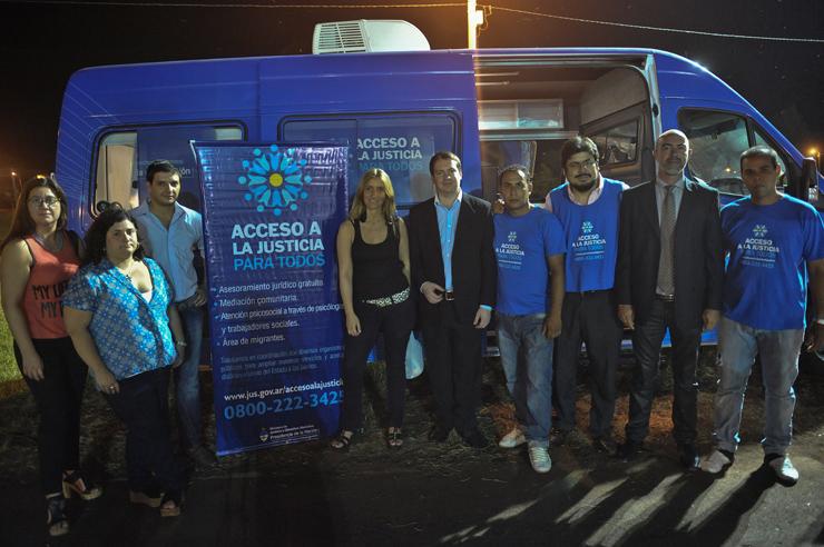 El Ministerio inauguró un Centro de Acceso a la Justicia en Leandro N. Alem, Misiones