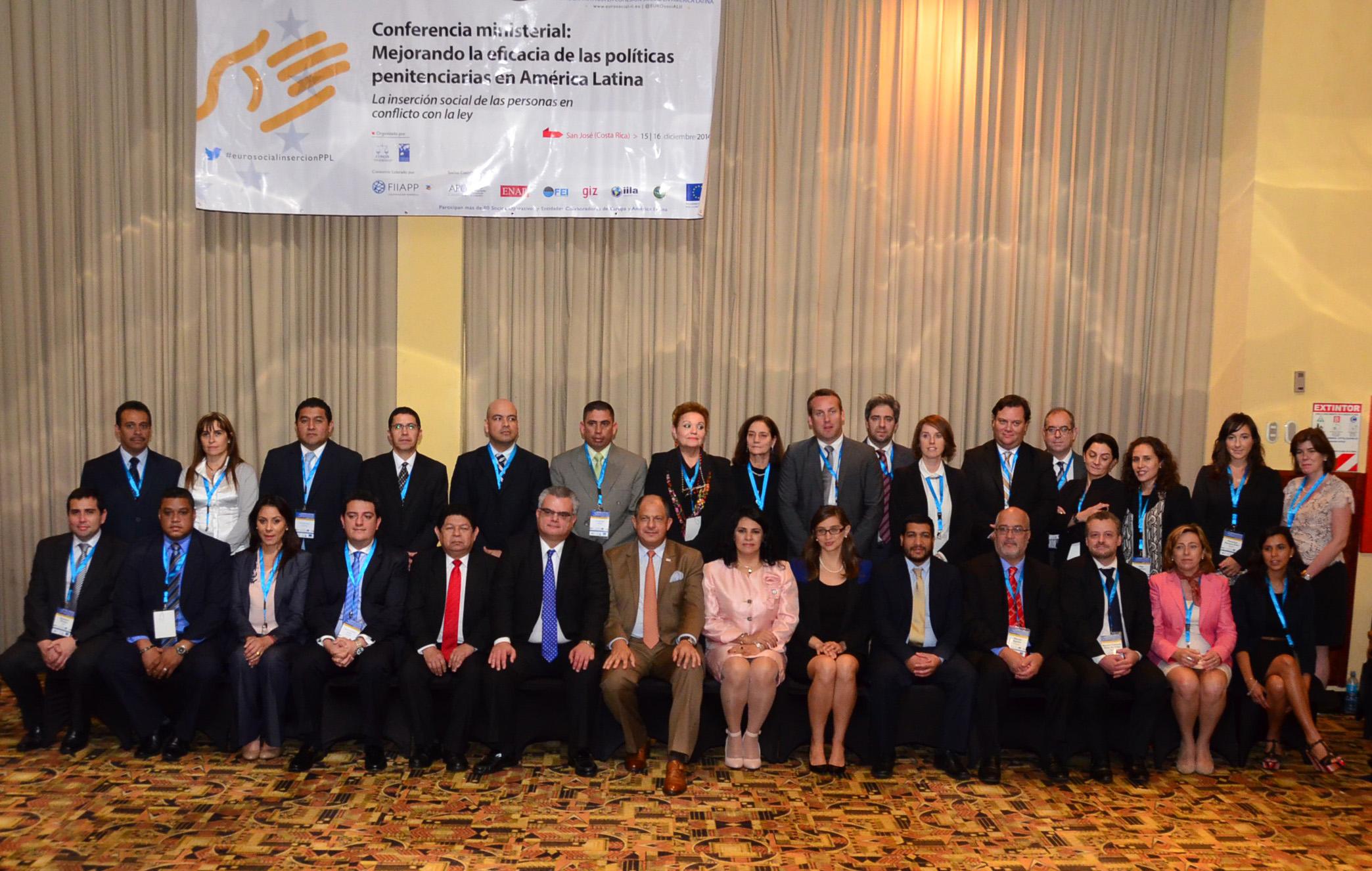 El Ministerio de Justicia participó en Costa Rica de una Conferencia sobre inserción social de personas privadas de libertad