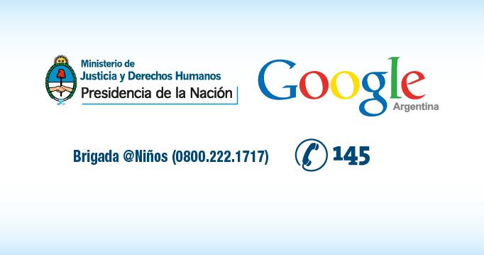 El Ministerio y Google Argentina, juntos contra la pornografía infantil