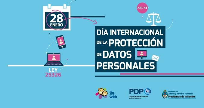 28 de enero Día Internacional de la Protección de los Datos Personales