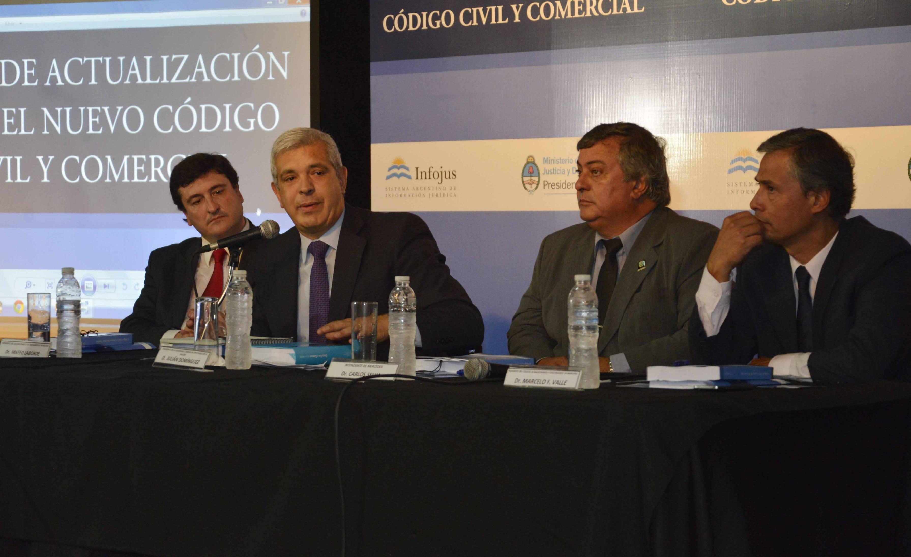 INFOJUS organizó el primer curso del año sobre actualización del Código Civil y Comercial