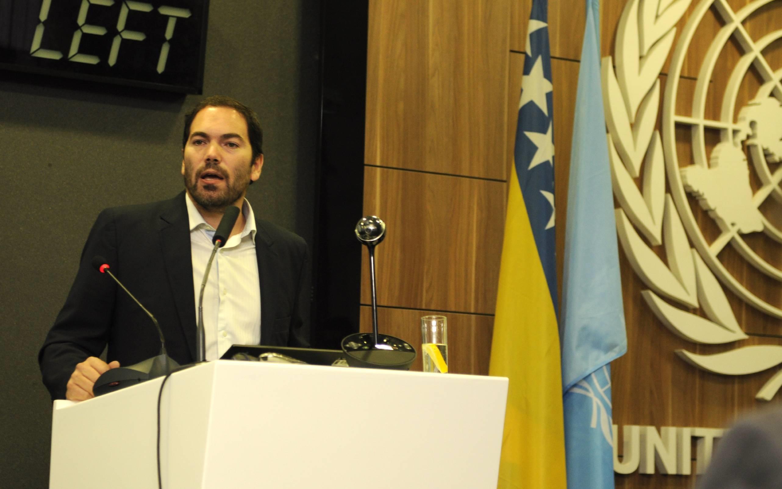 La Argentina expuso en Bosnia su política de desarme civil