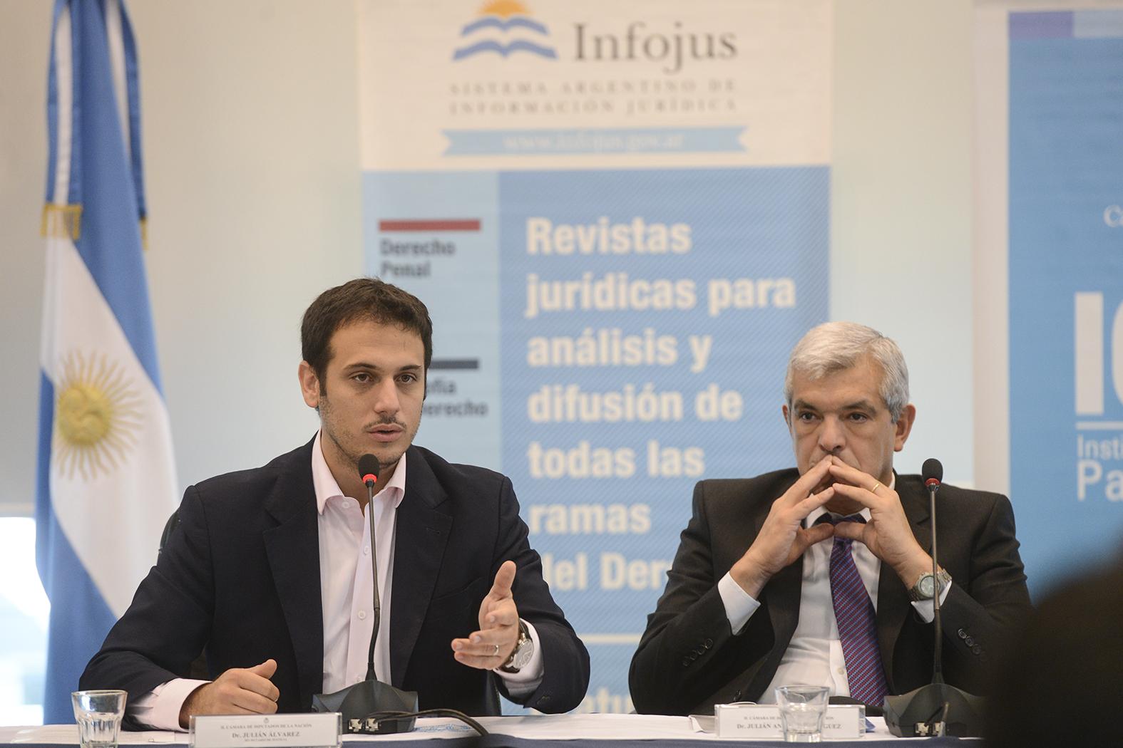 """Álvarez: """"El Código Civil y Comercial procura soluciones a los problemas del día a día"""""""