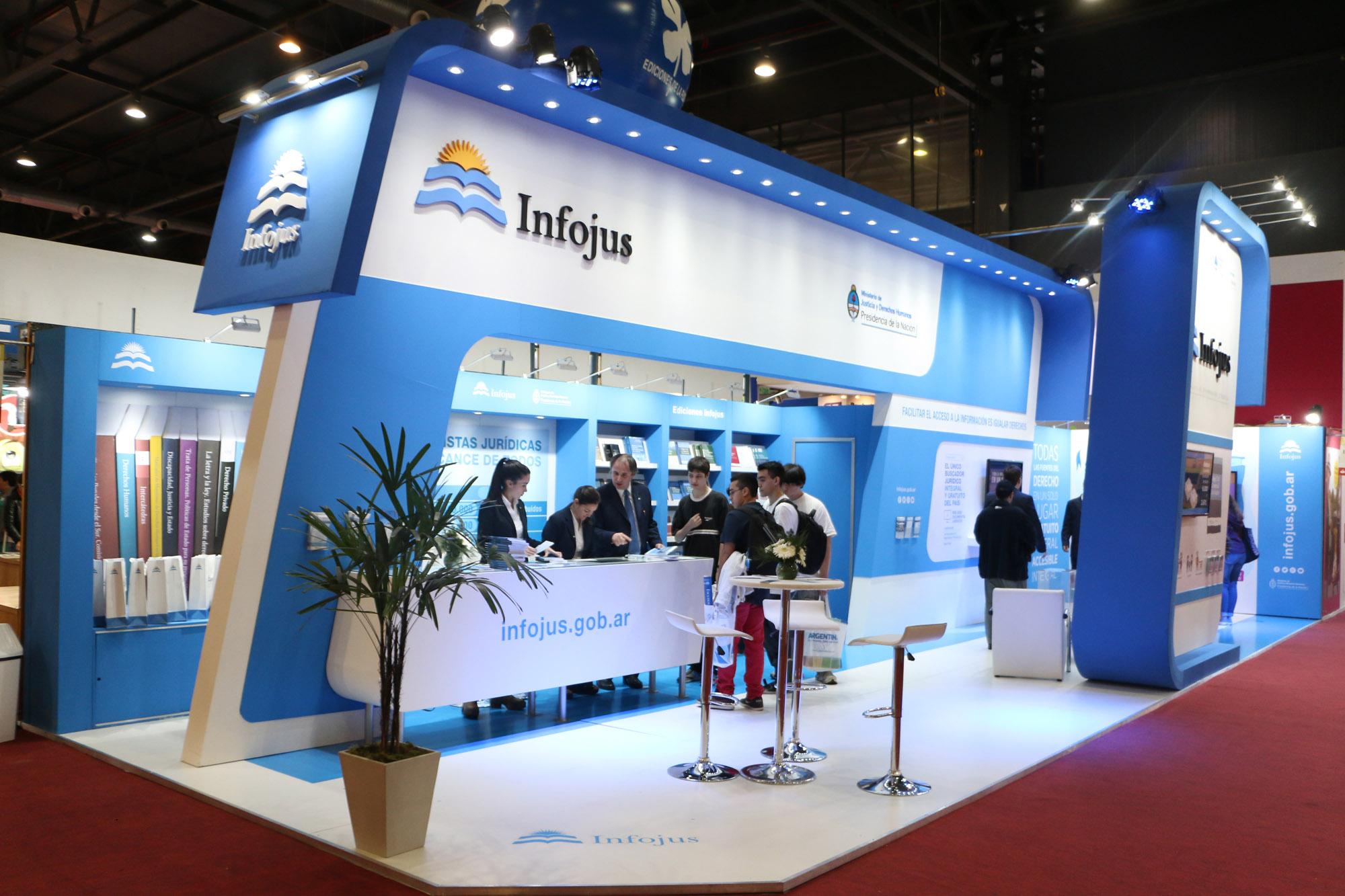 Infojus ofrece sus servicios en la Feria del Libro