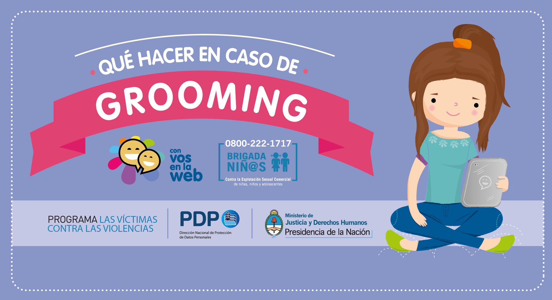 El Ministerio lanzó una campaña para prevenir el Grooming
