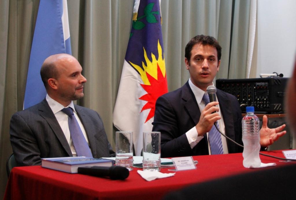 """Alvarez: """"Estamos construyendo un sistema jurídico para los próximos 100 años"""""""