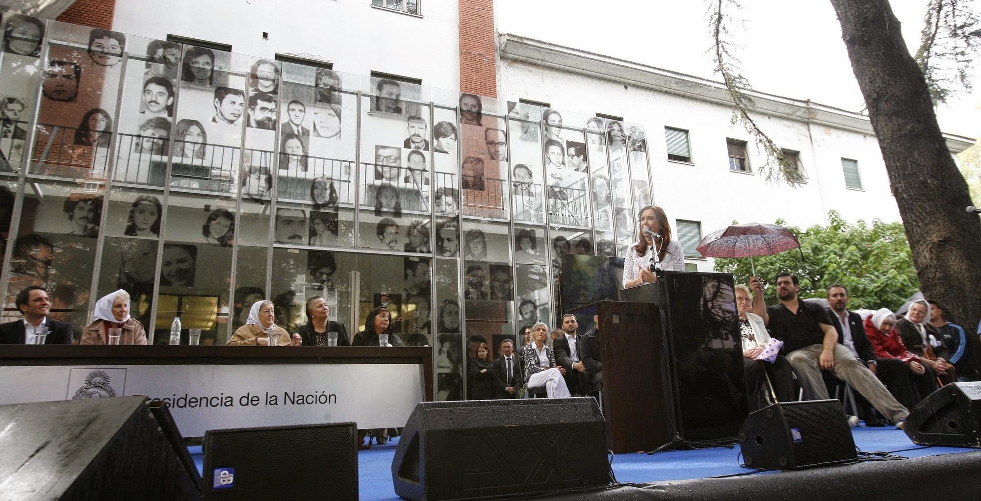 La Presidenta inauguró el Sitio de Memoria ESMA