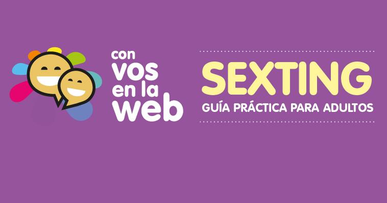 El Ministerio lanzó una guía para adultos sobre prevención del Sexting