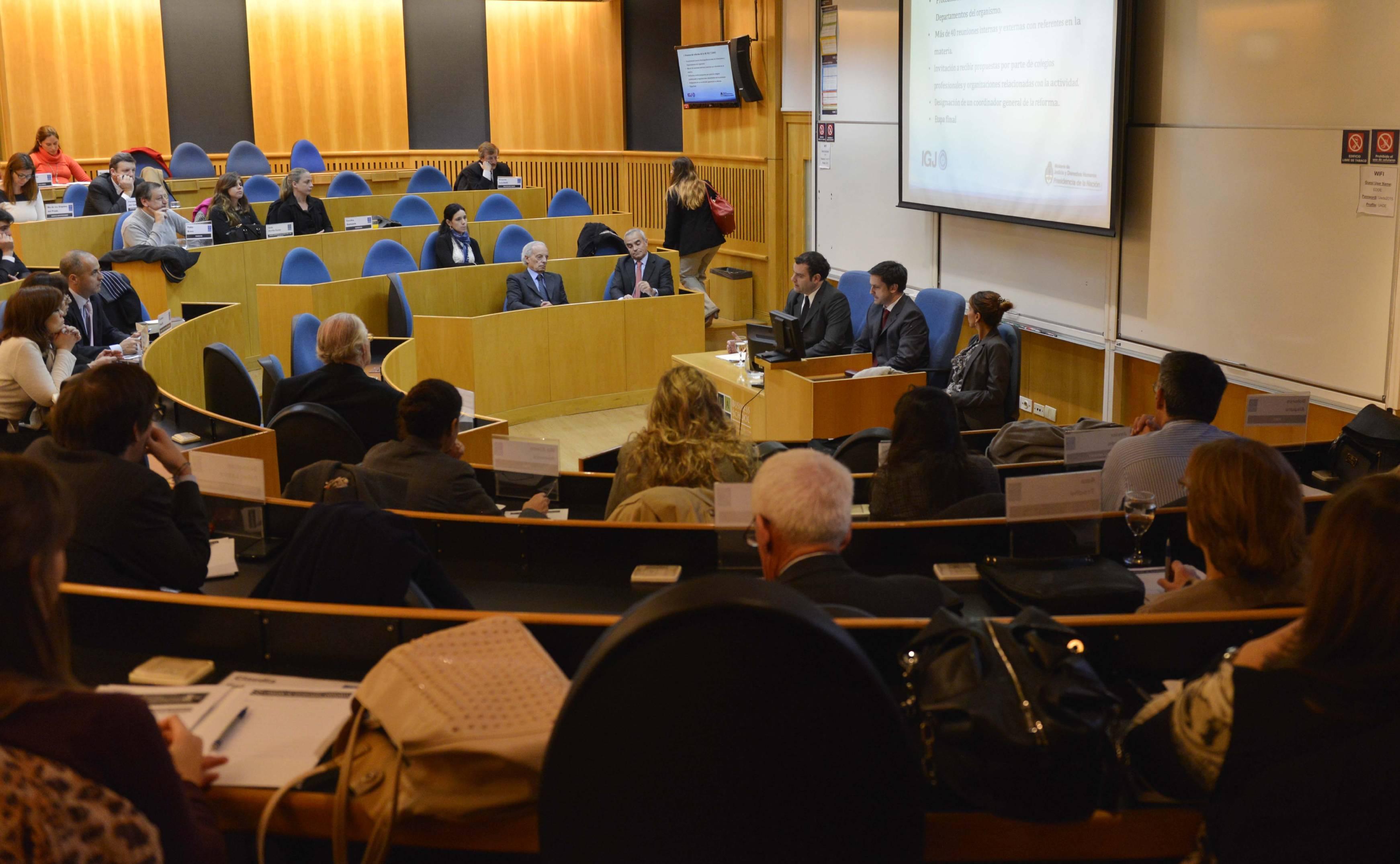 La IGJ expuso sobre el nuevo Código Civil y Comercial de la Nación