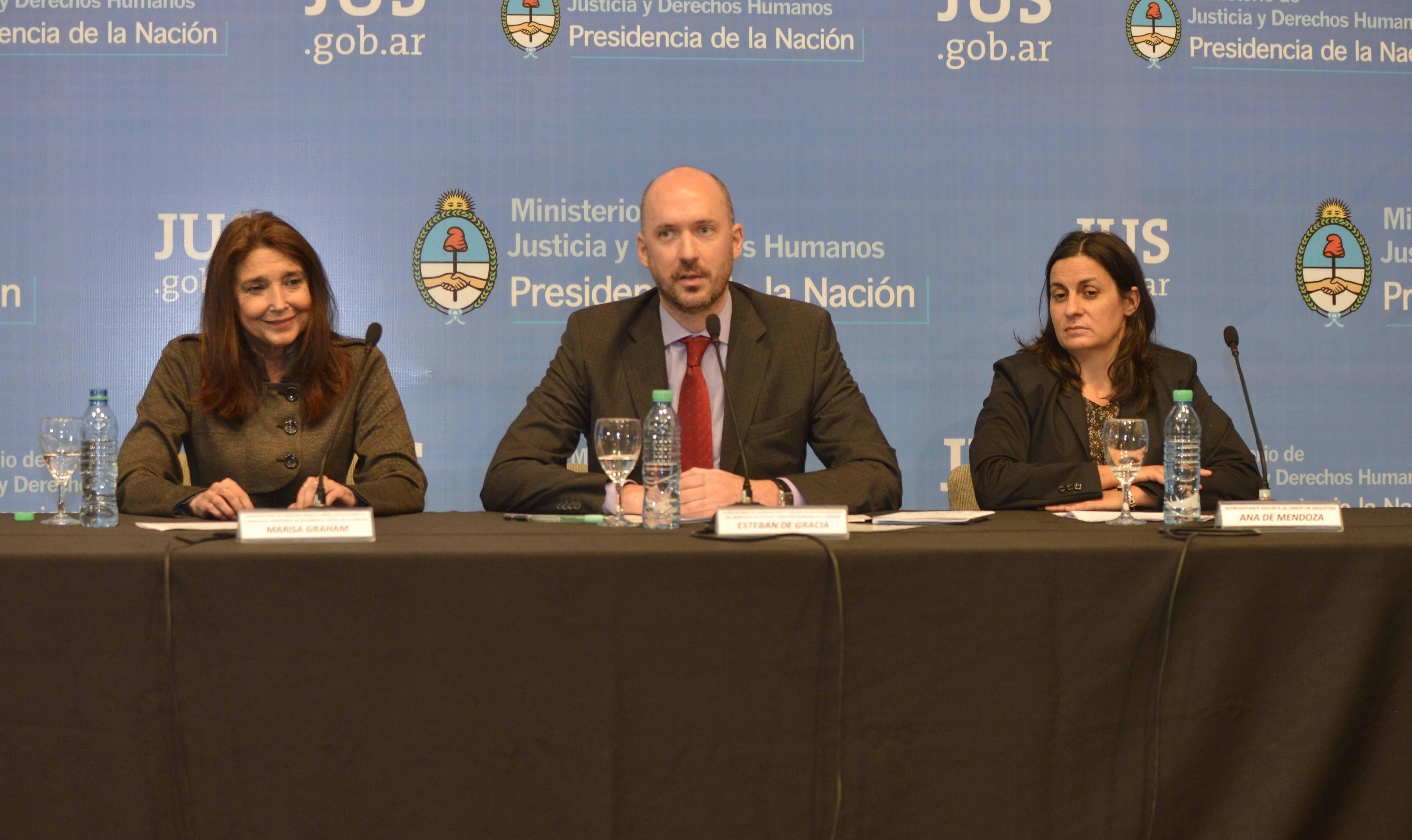 Comenzó el Encuentro sobre Niñez y Adolescencia que organizan los ministerios de Justicia y Desarrollo Social