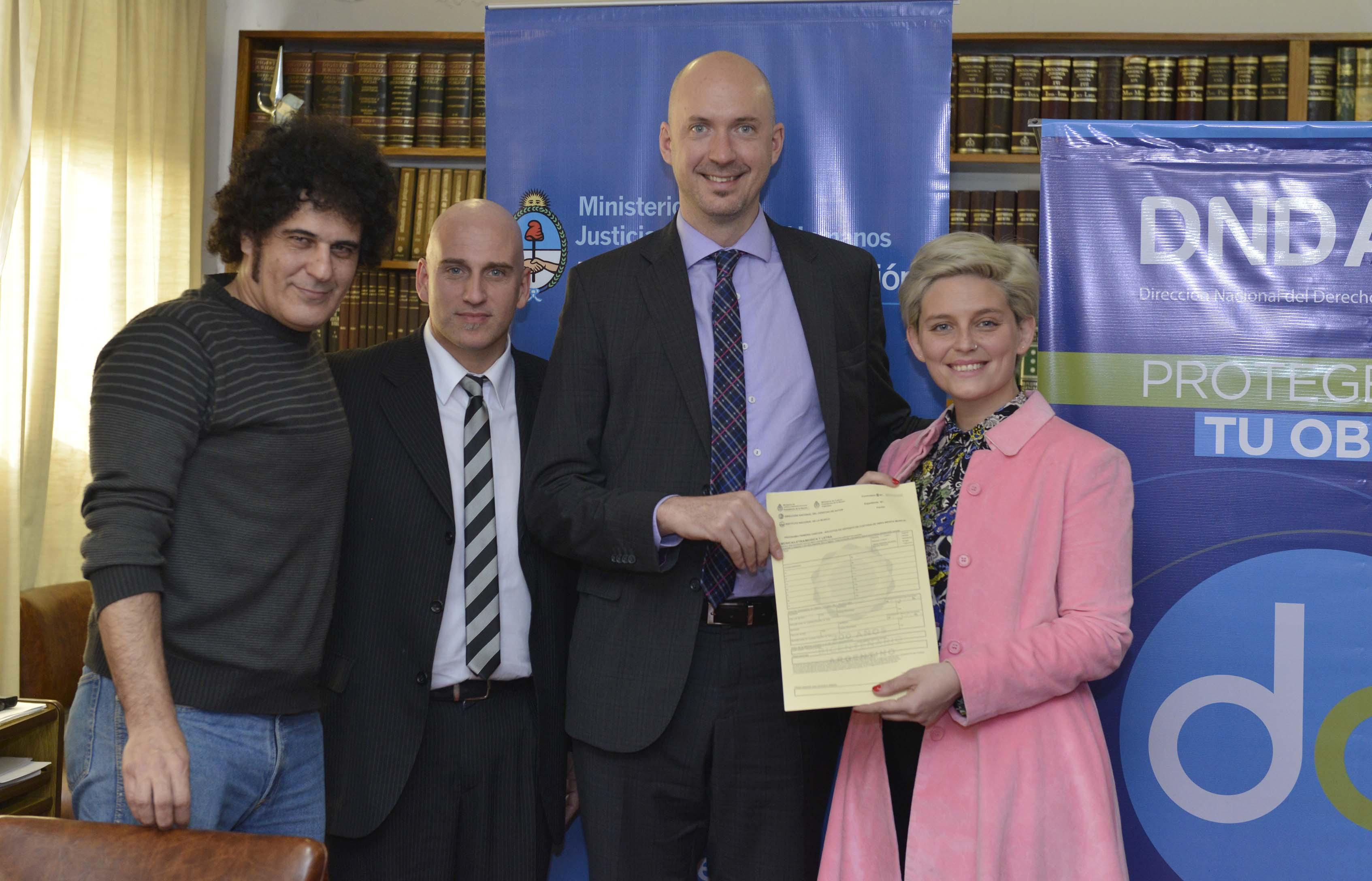 Se inscribieron más de 6000 canciones de modo gratuito en la Dirección del Derecho de Autor