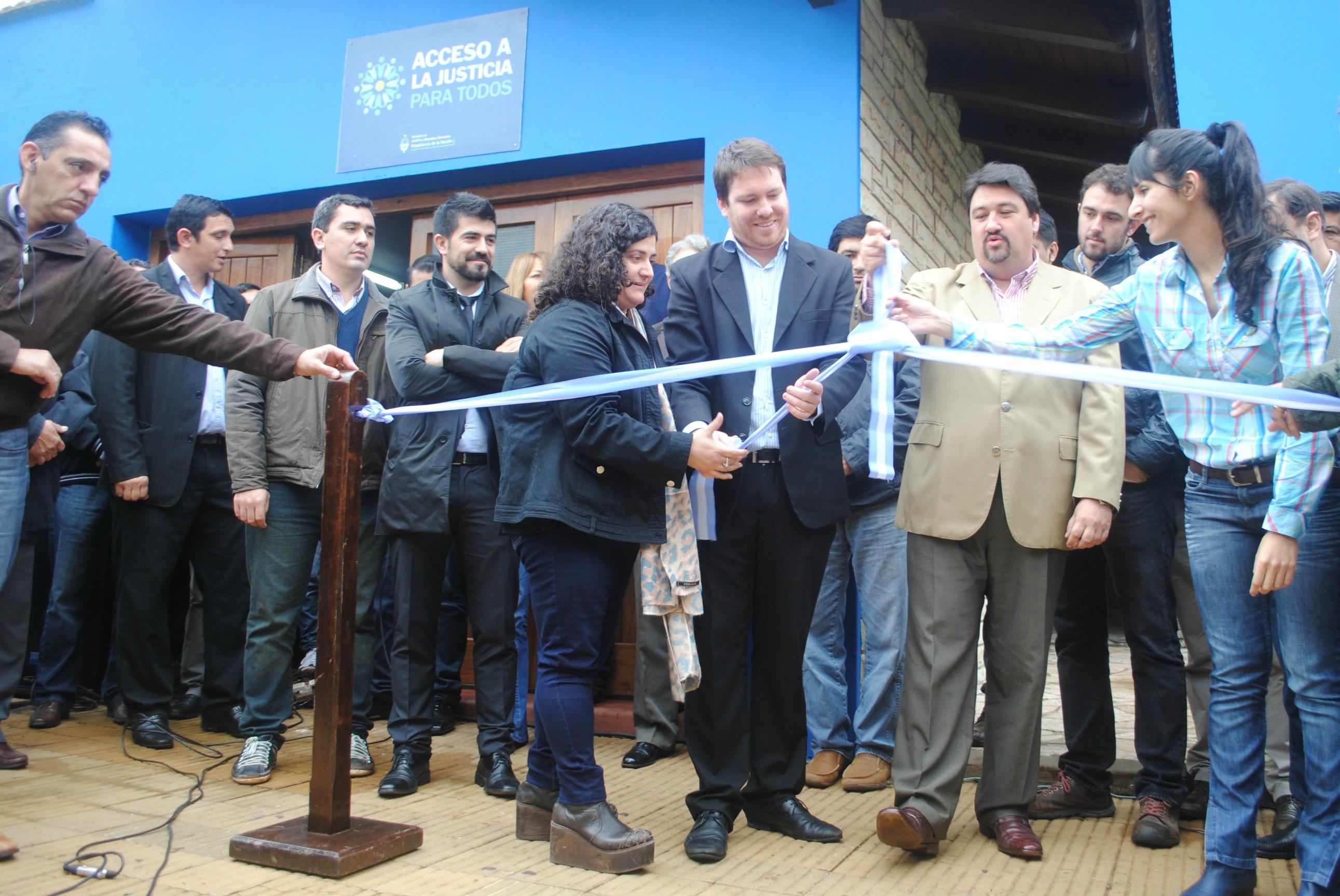 Se inauguró un nuevo Centro de Acceso a la Justicia en Misiones