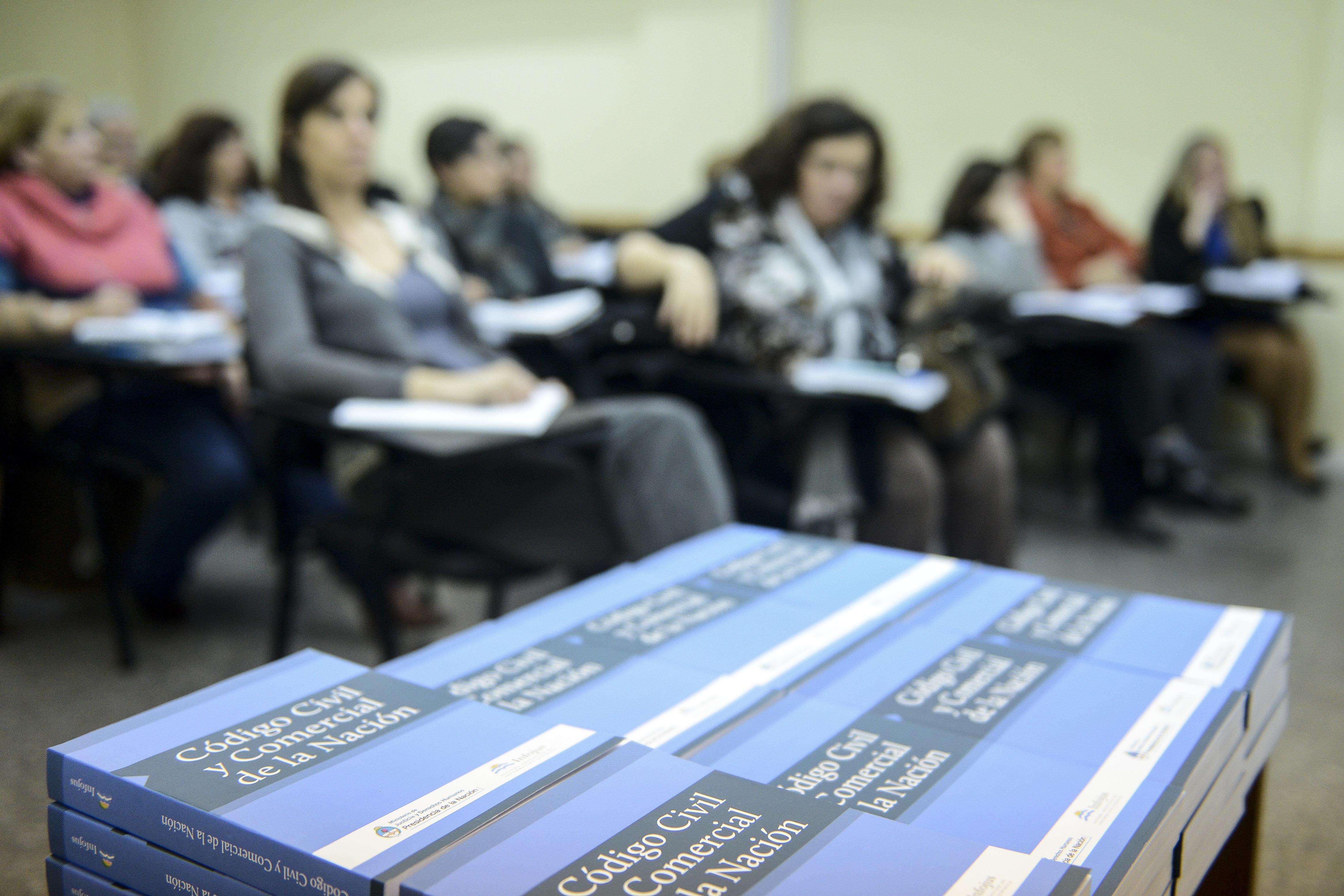 Infojus capacita a mediadores sobre el nuevo Código Civil y Comercial