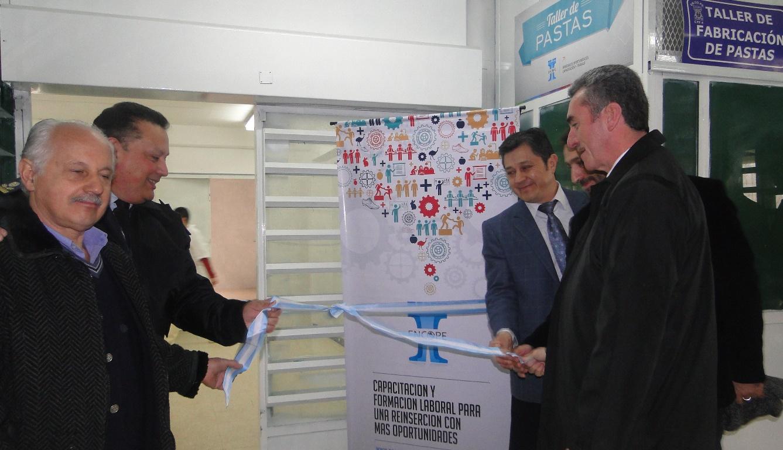 Se inauguró el Taller de Elaboración de Pastas en el Complejo Penitenciario de Marcos Paz