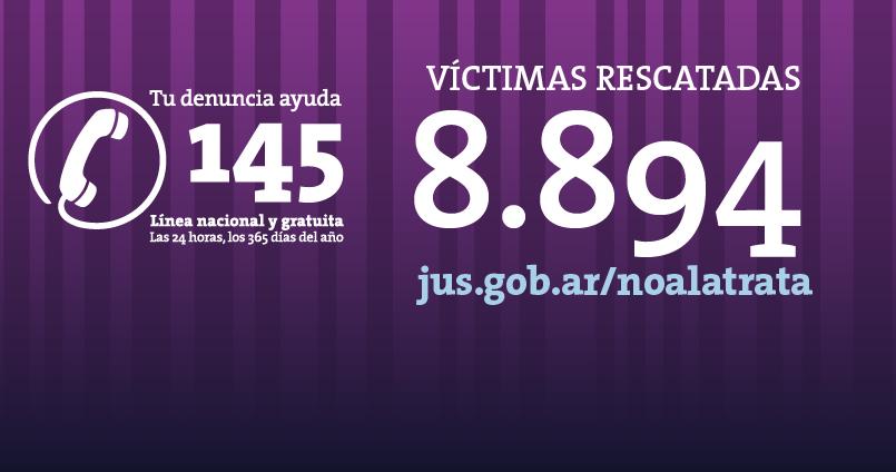 El 62 por ciento de las víctimas rescatadas en los que va del año son extranjeras