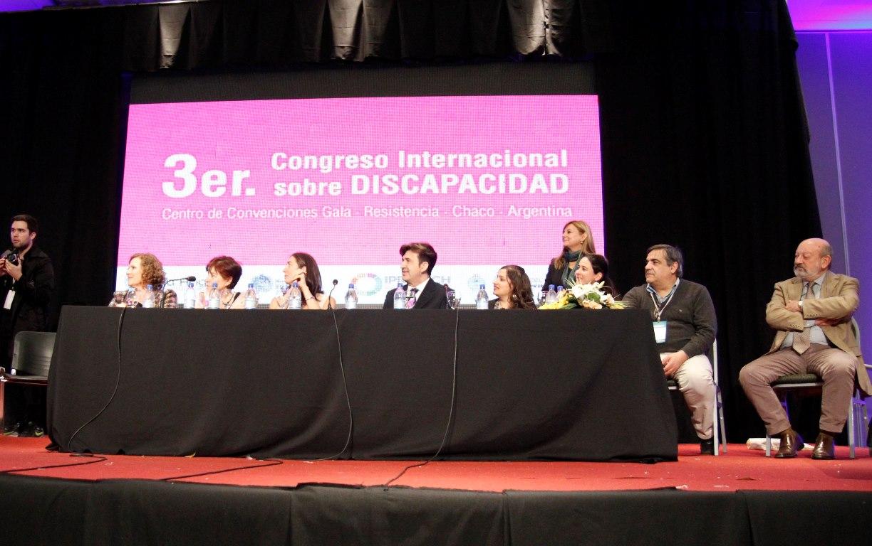 El Ministerio de Justicia participó de Congreso Internacional sobre Discapacidad