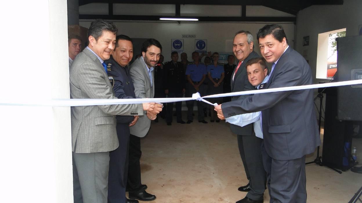 El SPF inauguró un secadero de yerba en una colonia penal misionera