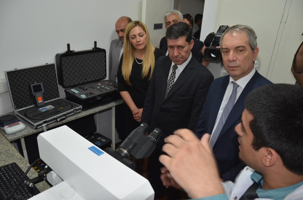 Alak inauguró en La Rioja un laboratorio forense y la quinta oficina regional de asistencia a víctimas de trata de personas