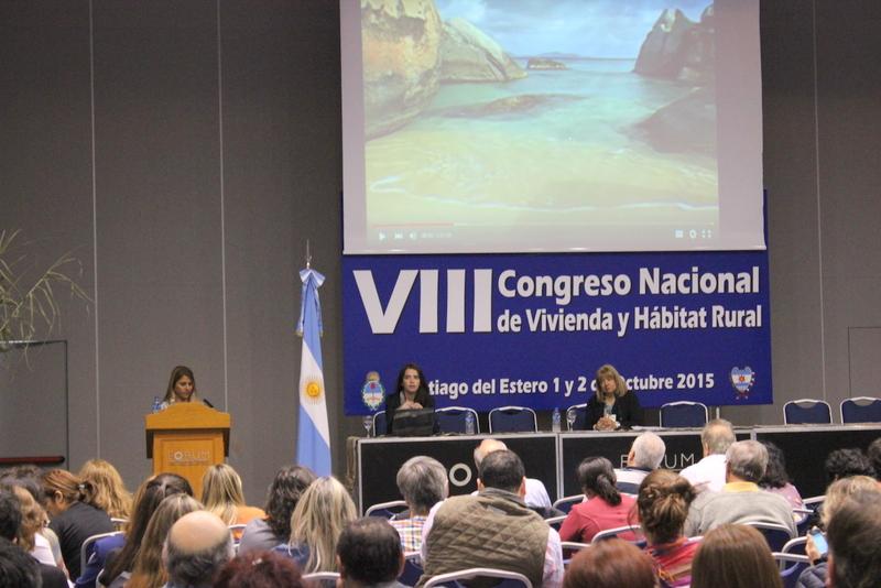 El Registro Nacional de Tierras Rurales participó del VII Congreso Nacional de Vivienda y Hábitat Rural
