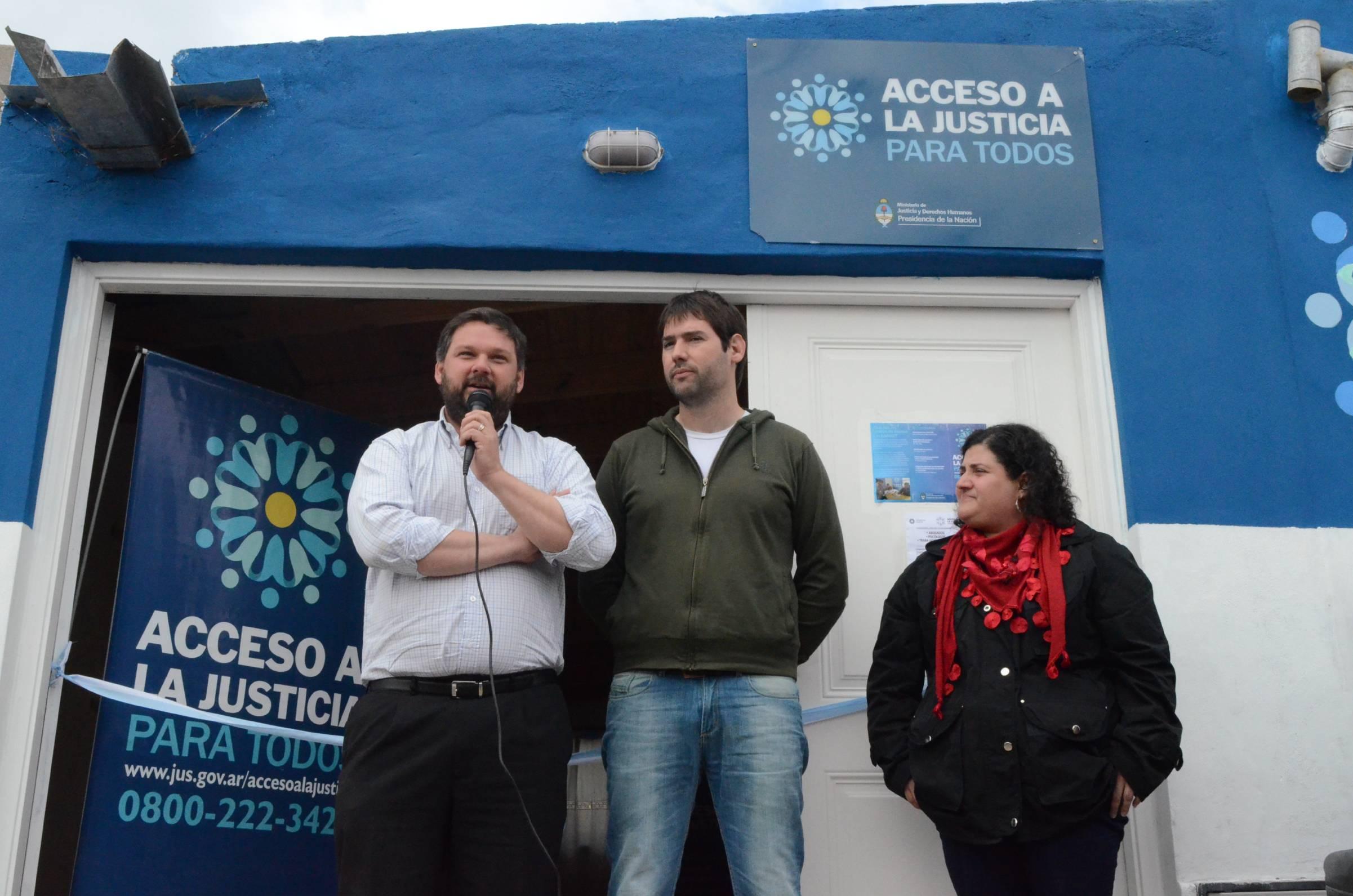 Nueva sede de Acceso a la Justicia en Puerto Madryn