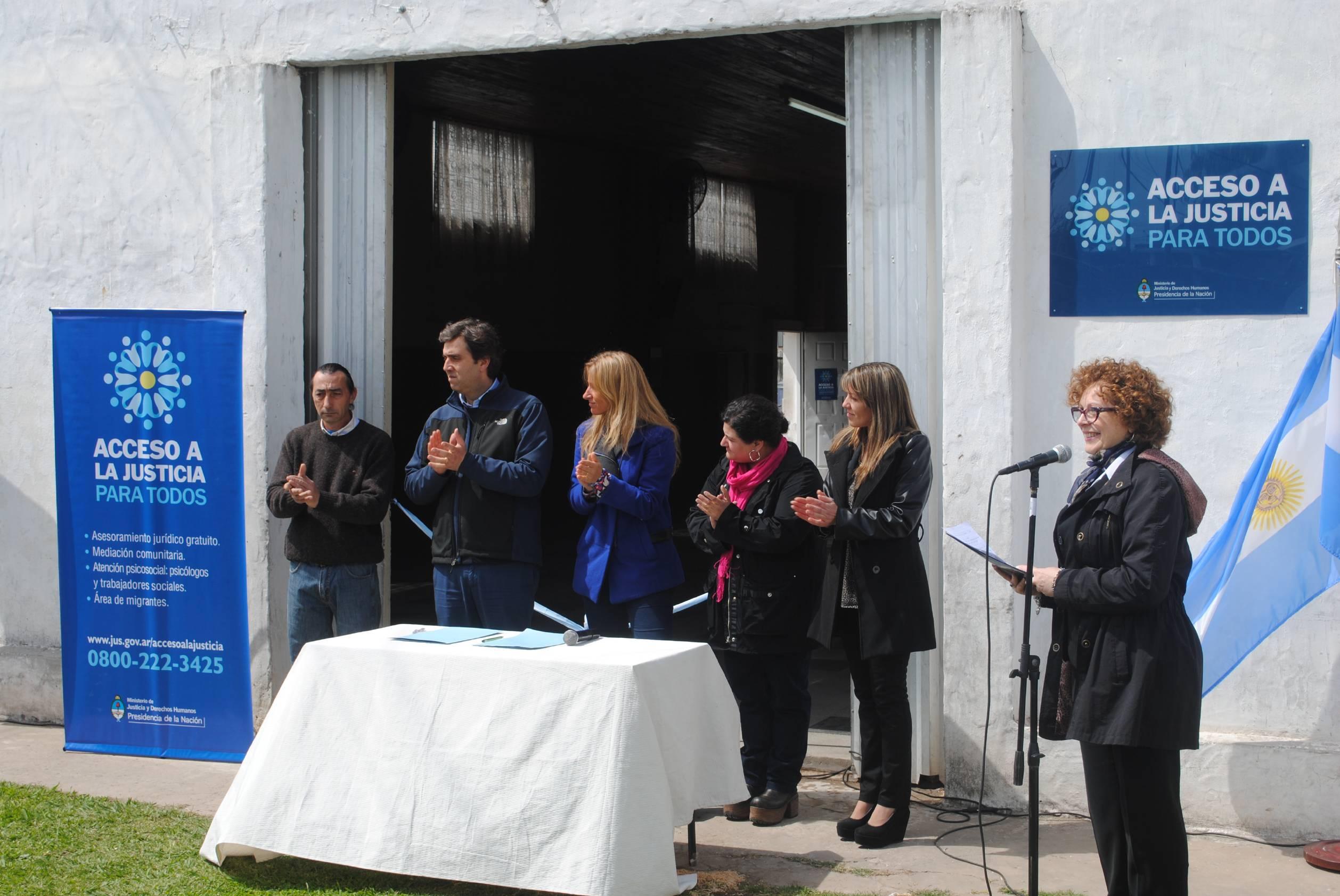 Nueva oficina de Acceso a la Justicia en Luján