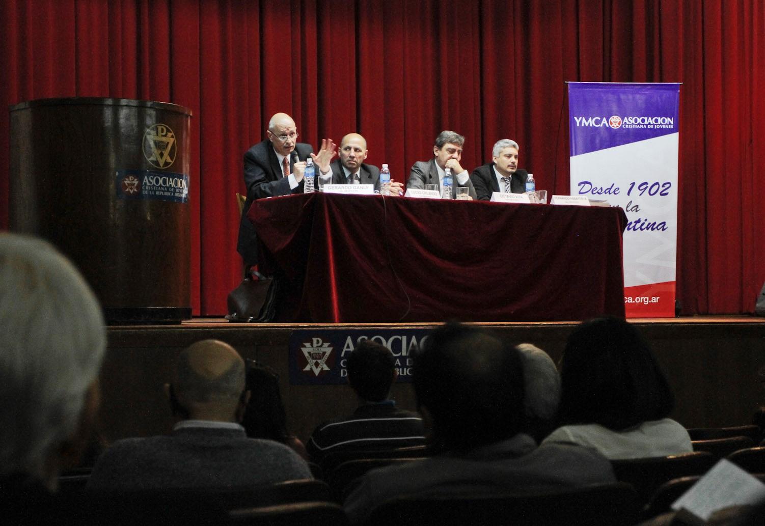 La IGJ expuso sobre el Código Unificado en la Asociación Cristiana de Jóvenes