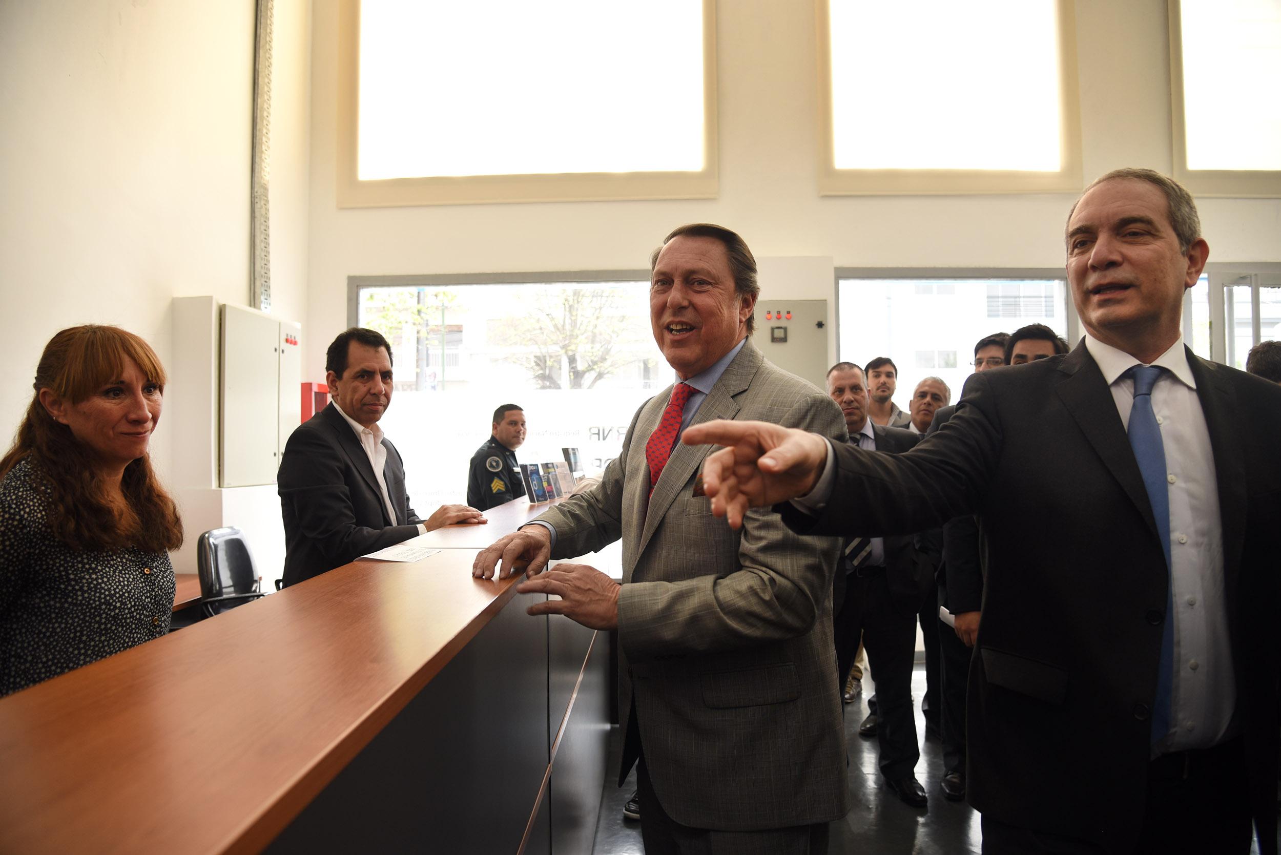 Alak y Casal recorrieron la Delegación La Plata del Ministerio de Justicia