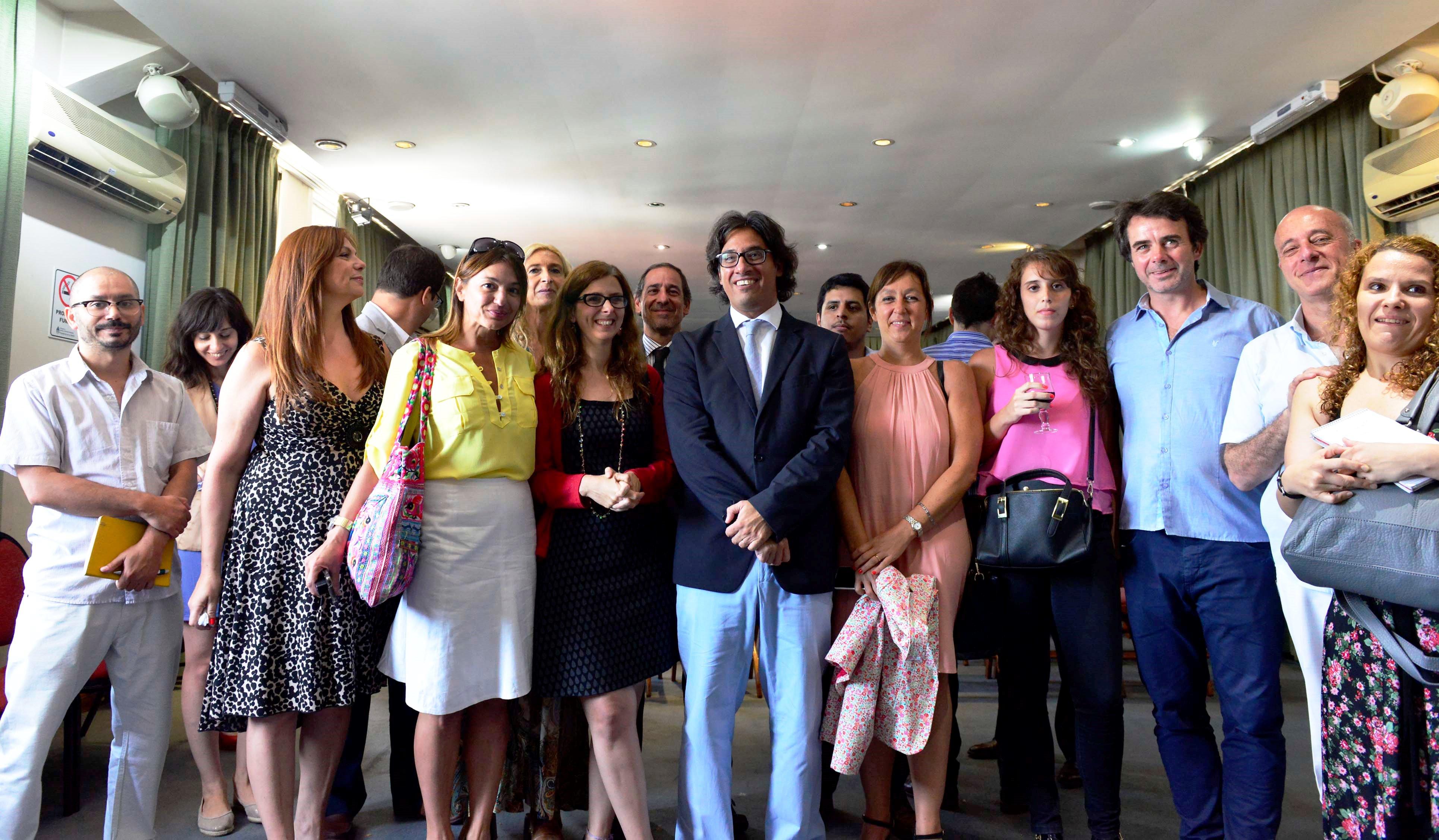 Brindis de fin de año del ministro Garavano con periodistas