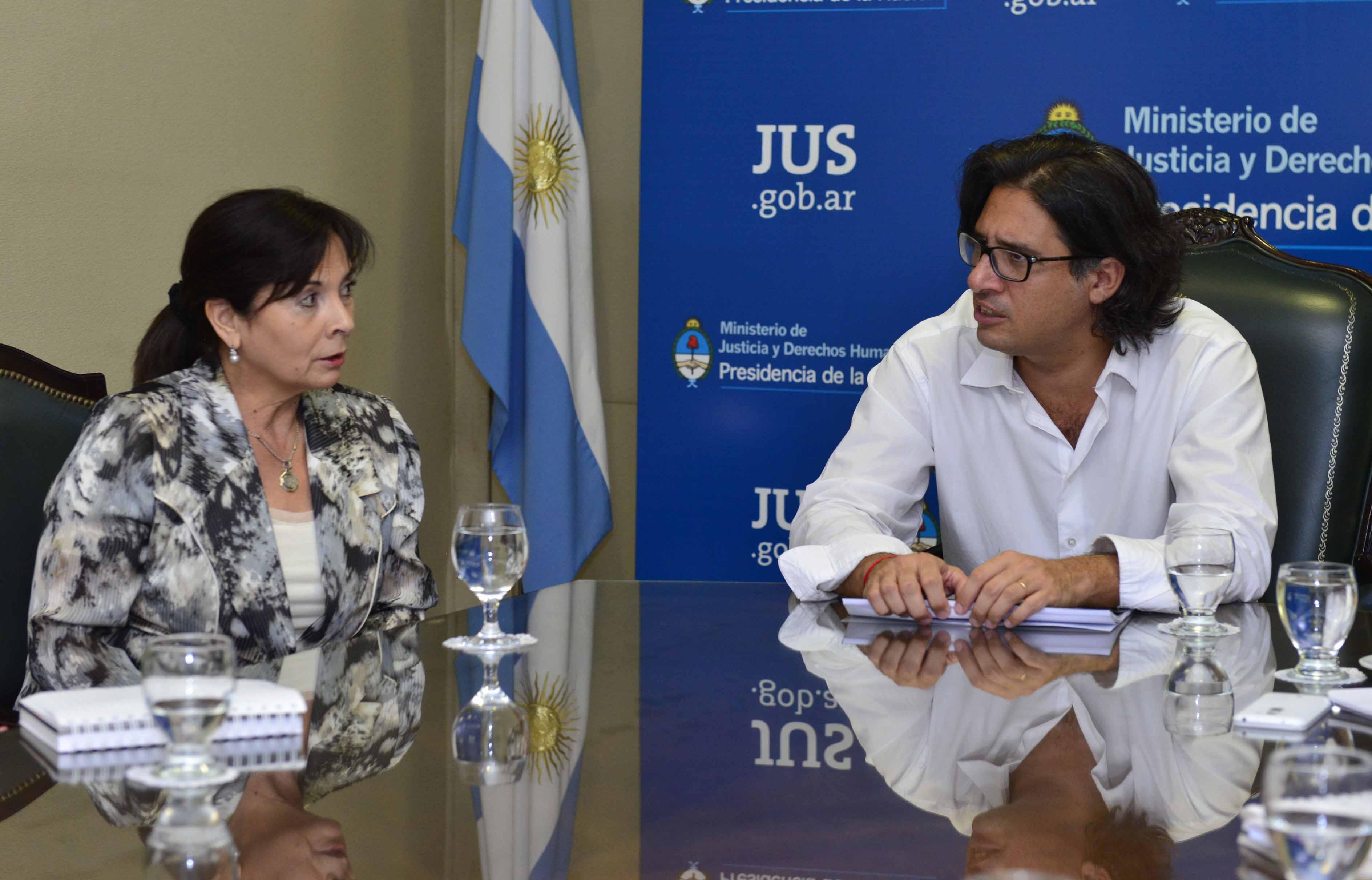 Lucha contra la trata de personas: Garavano recibió a Trimarco