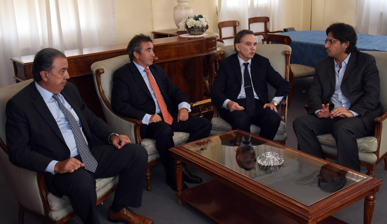 Garavano se reunió con Pichetto y Urtubey