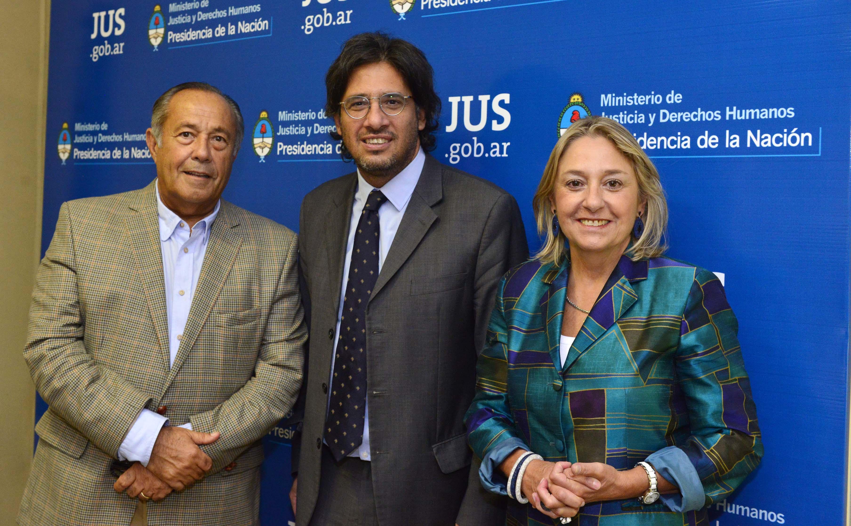 Garavano se reunió con Rodríguez Saá y Negre De Alonso