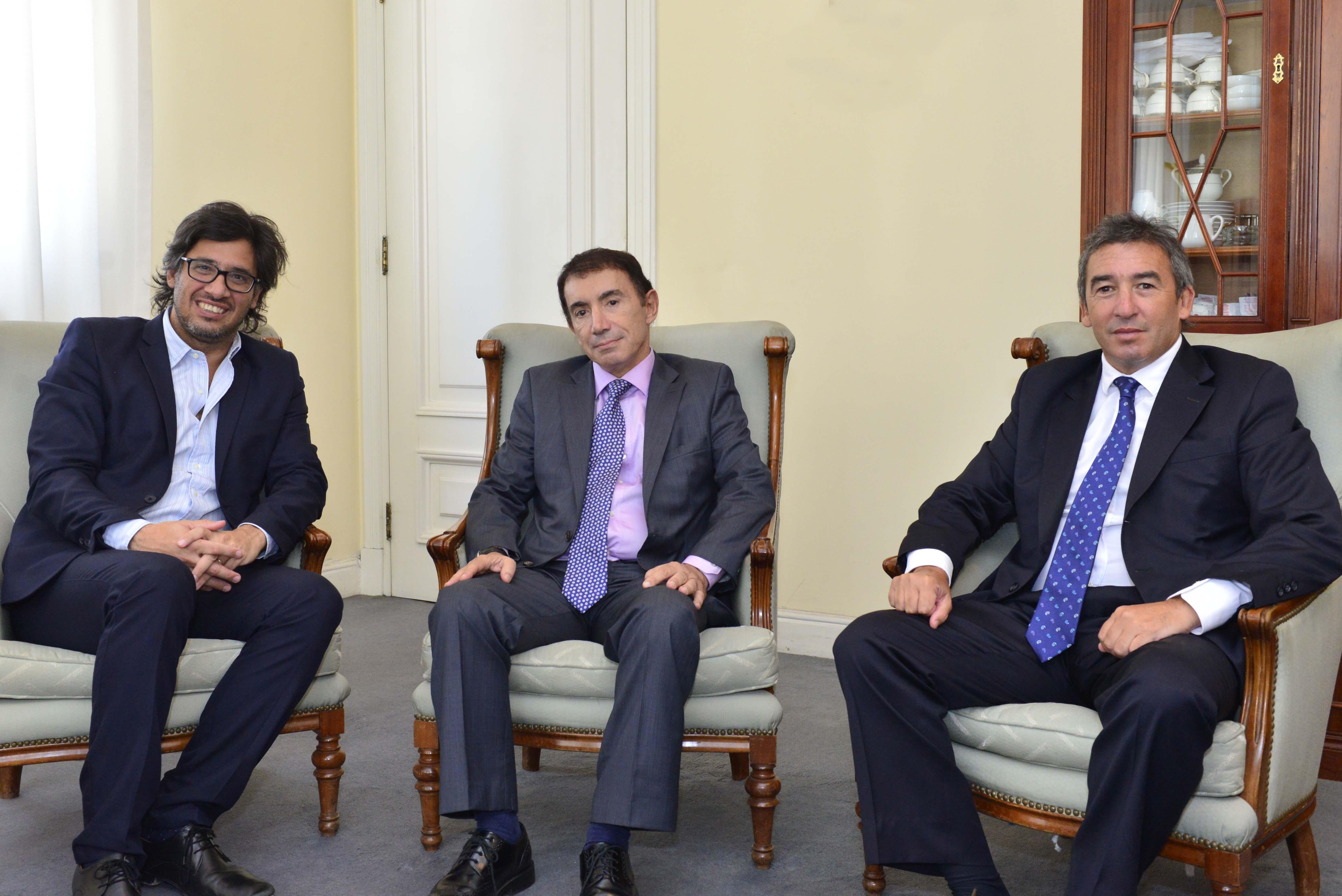 Encuentro de Garavano con el presidente del Tribunal Superior de Justicia de Córdoba